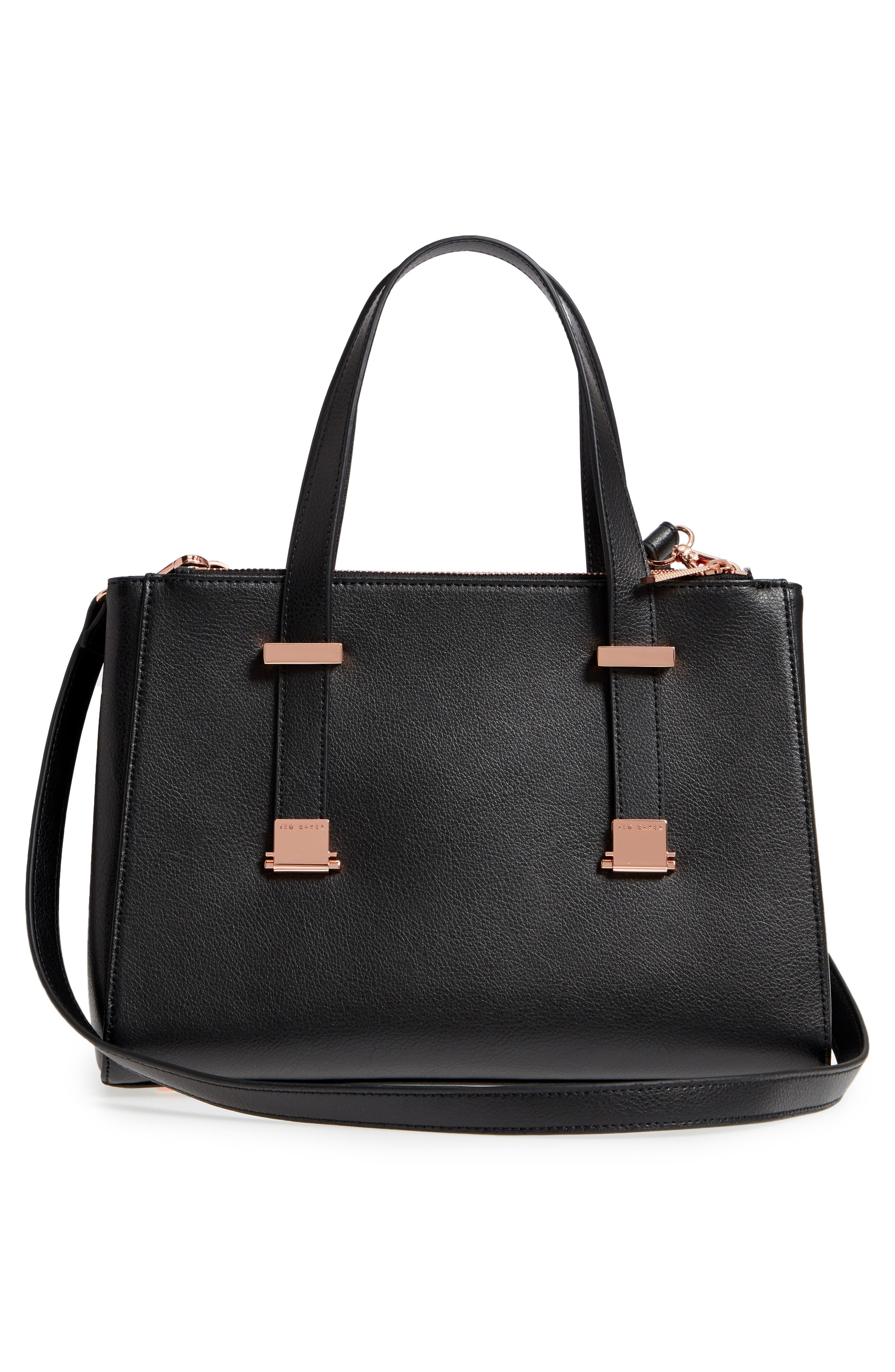 Alternate Image 3  - Ted Baker London Audreyy Small Adjustable Handle Leather Shopper