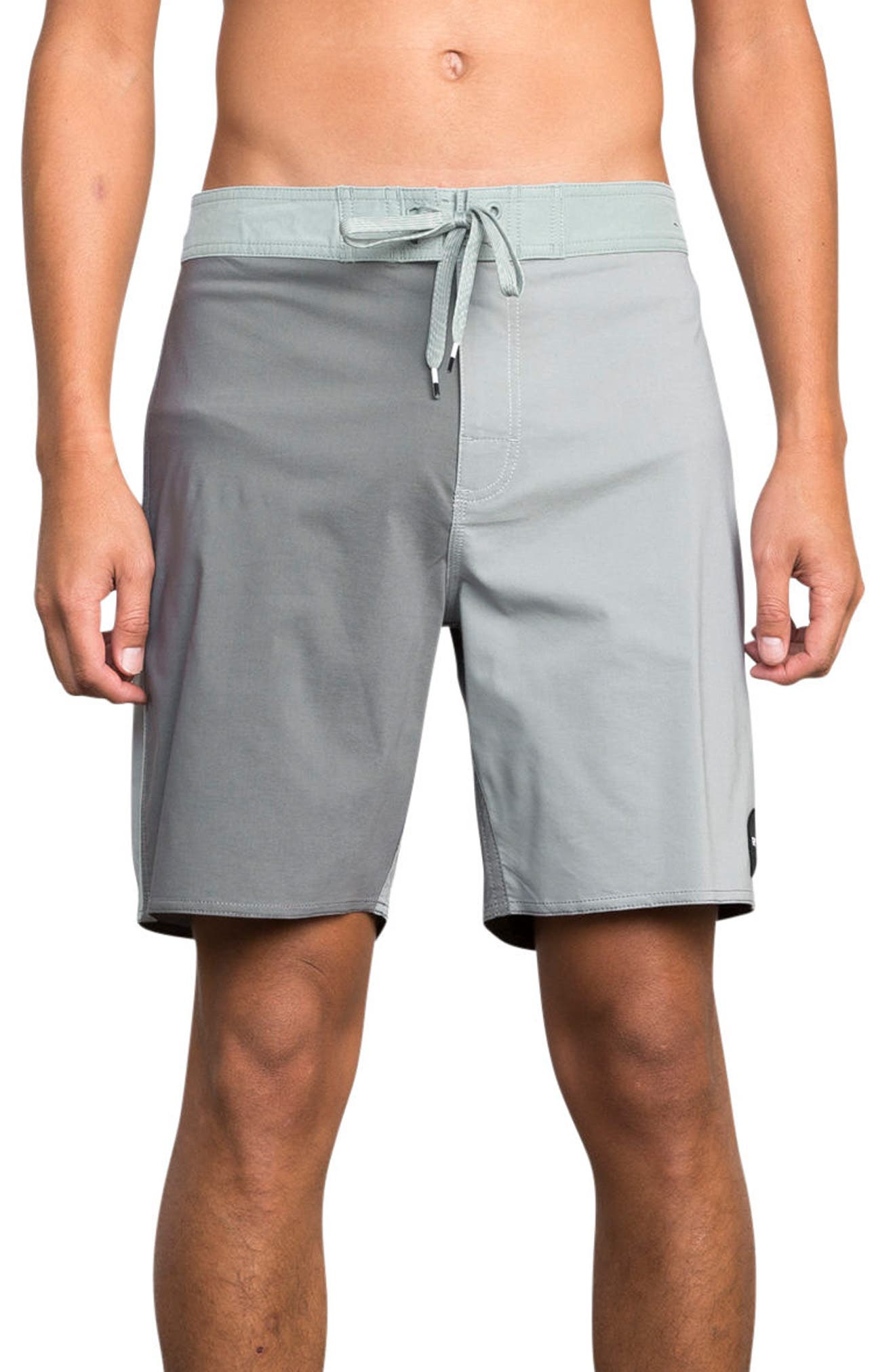 Smooth Like RVCA Board Shorts,                         Main,                         color, Monument