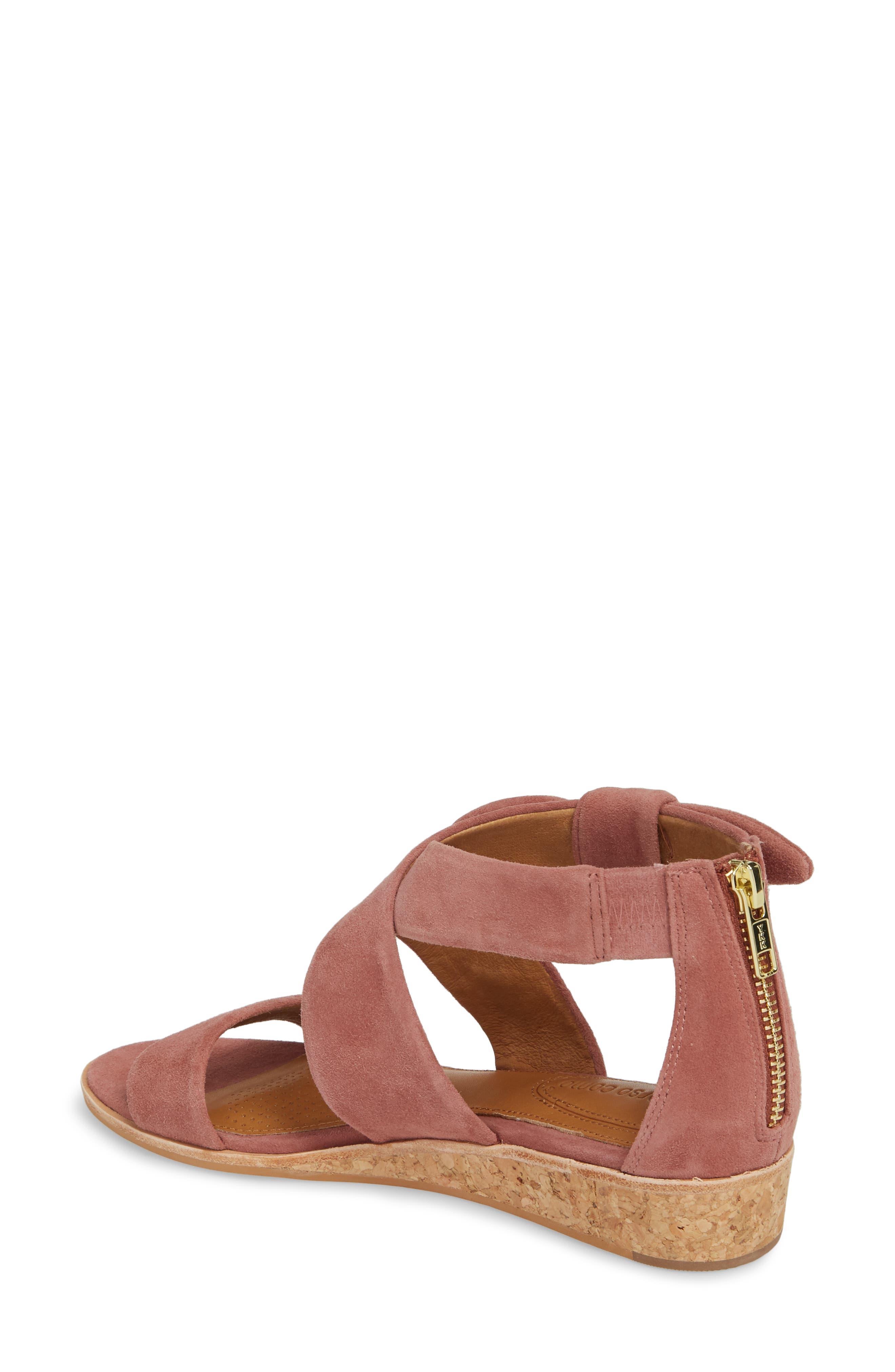 Rasque Sandal,                             Alternate thumbnail 2, color,                             Old Rose Leather