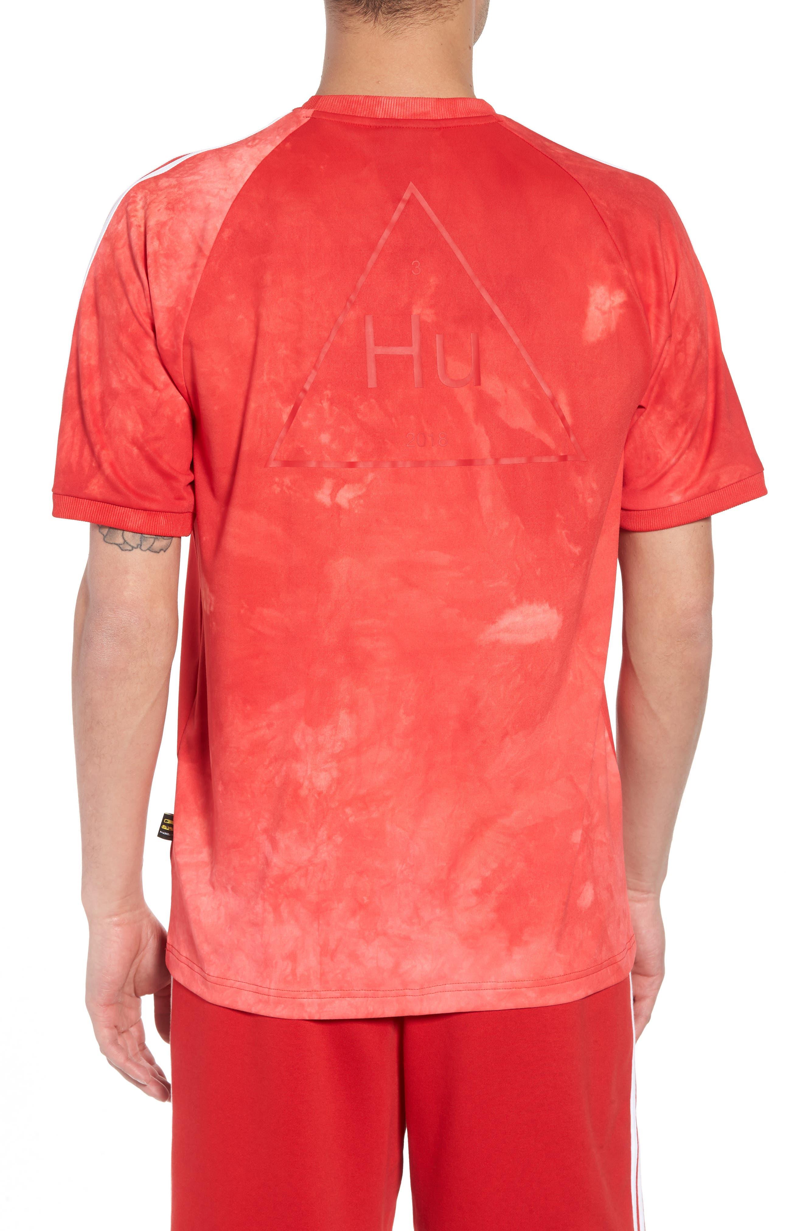 Hu Holi Soccer T-Shirt,                             Alternate thumbnail 2, color,                             Scarlet