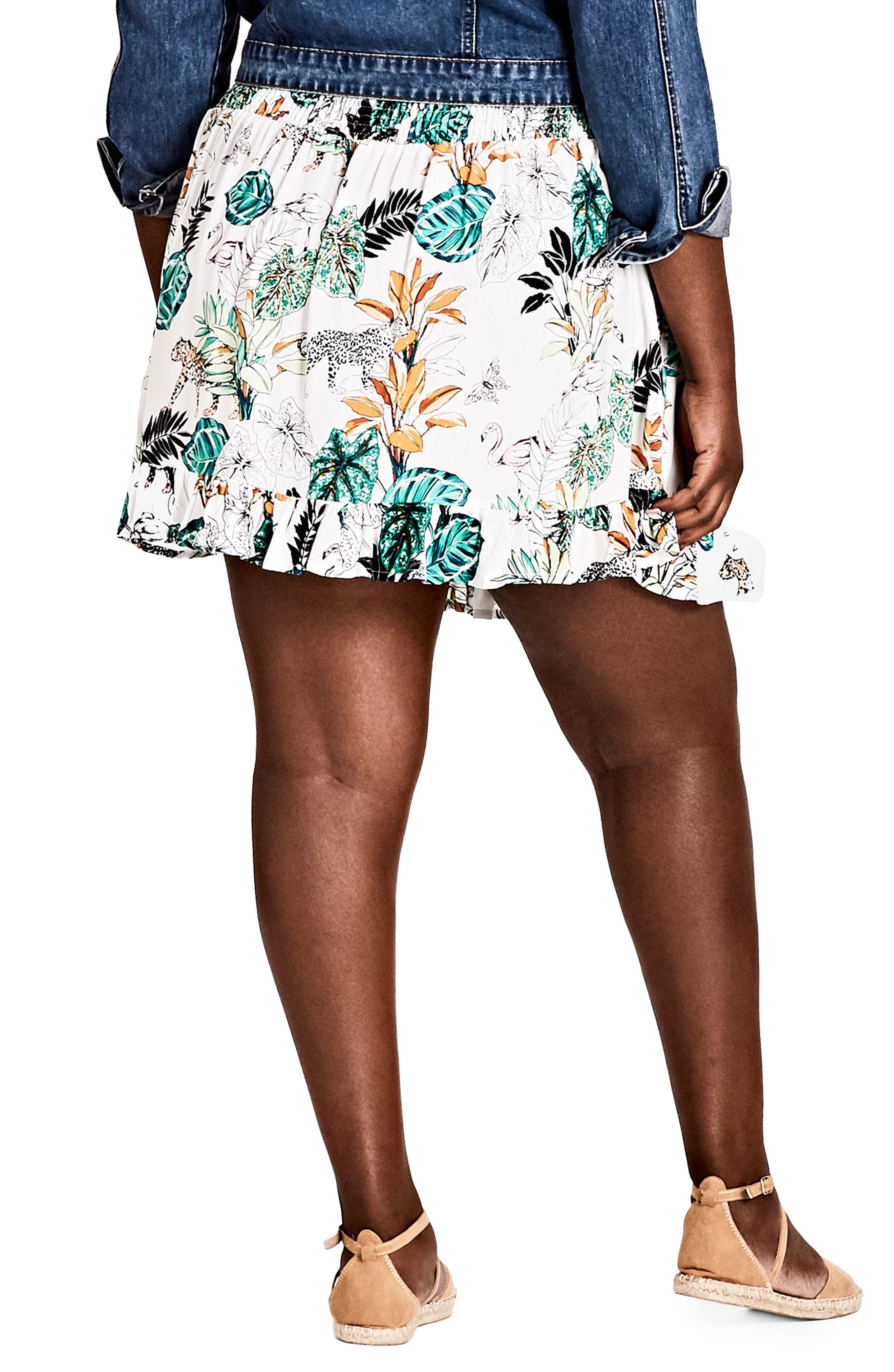 Jungle Study Skirt,                             Alternate thumbnail 2, color,                             Jungle Study
