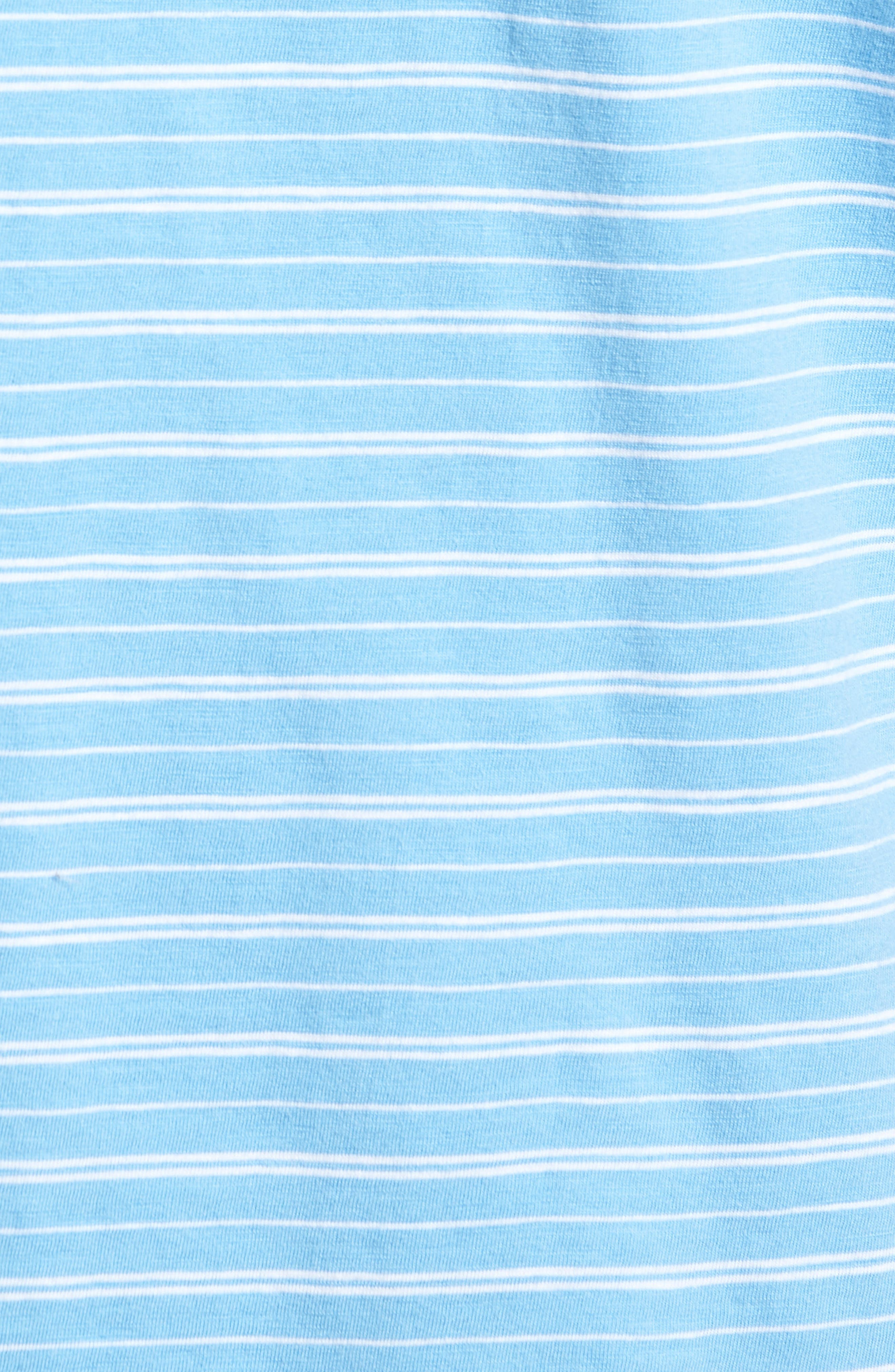 Stripe Jennings Henley,                             Alternate thumbnail 5, color,                             Ocean Channel