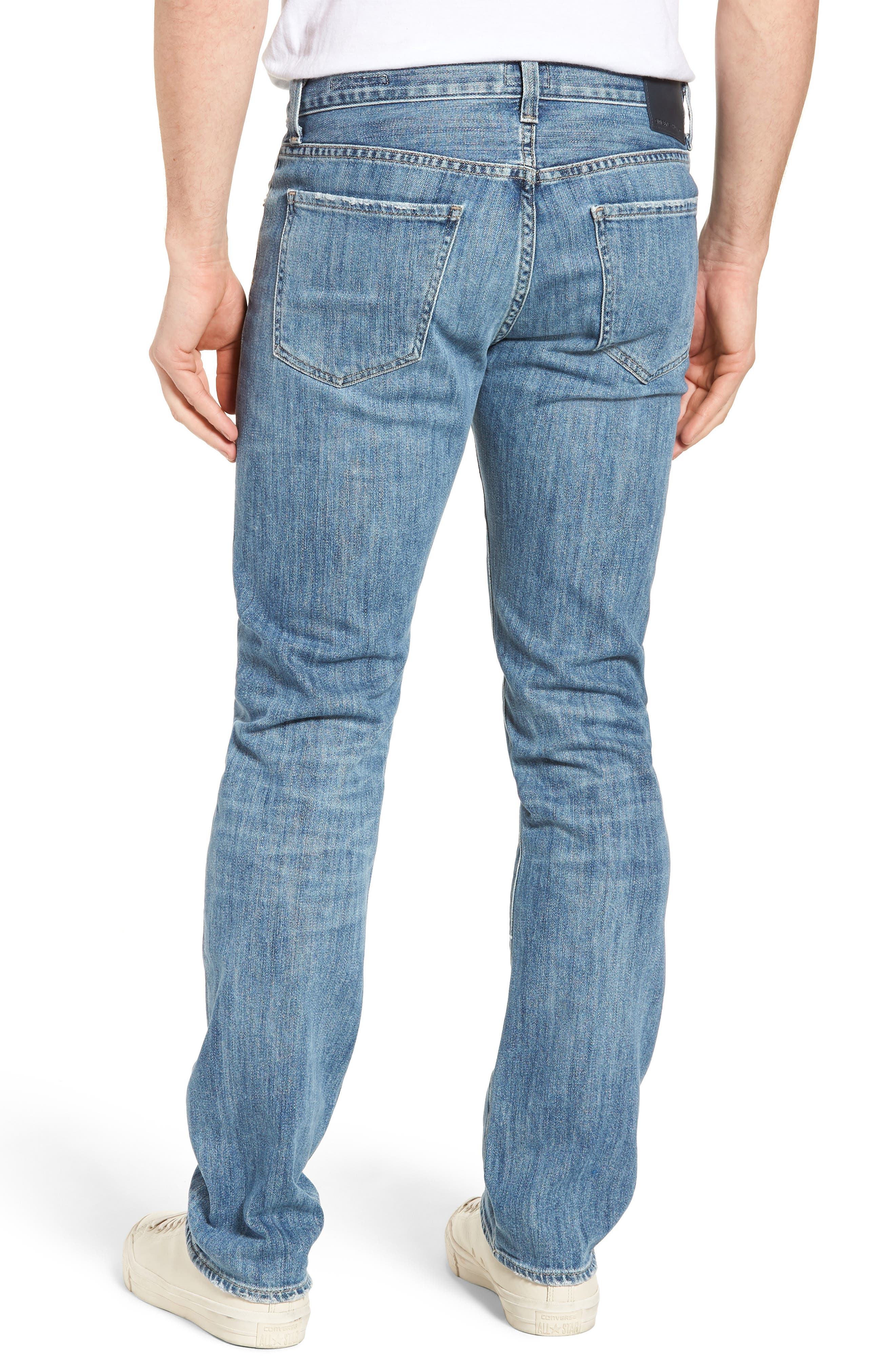 Sid Straight Leg Jeans,                             Alternate thumbnail 2, color,                             Colebrook