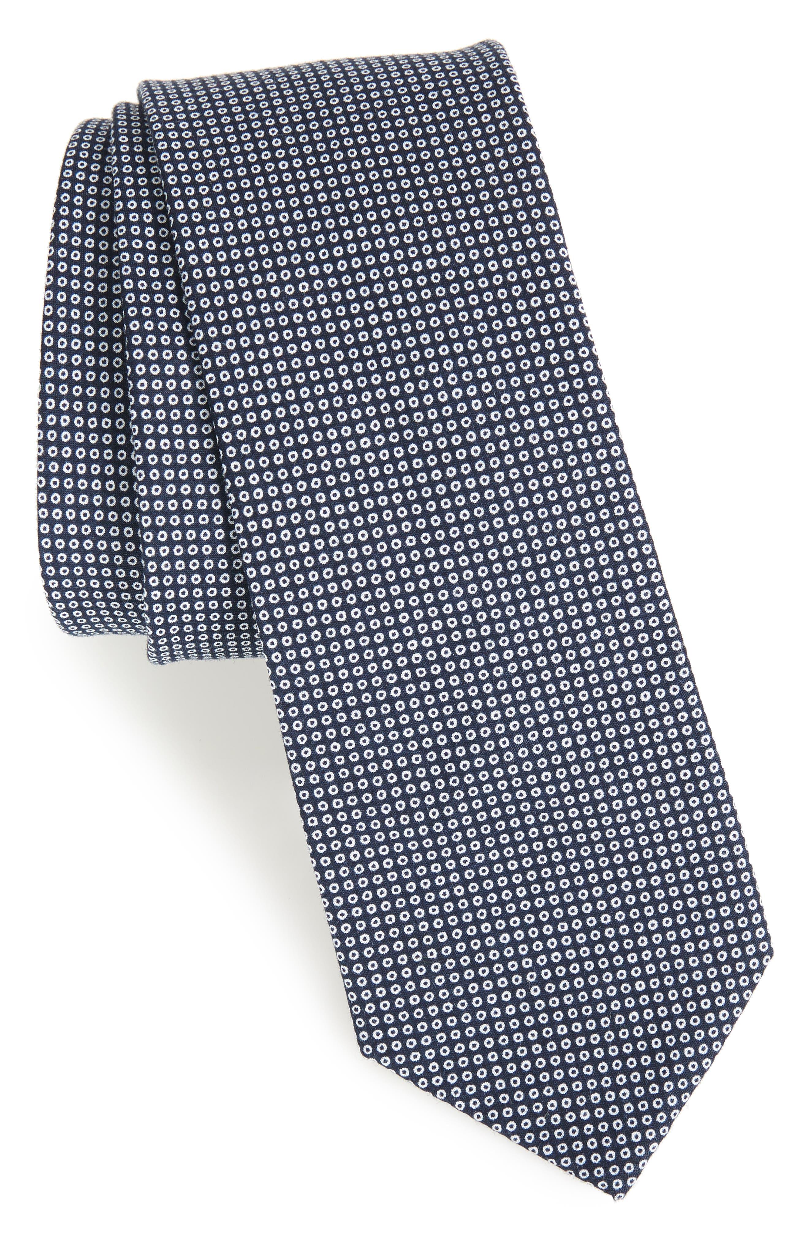 1901 Manzano Dot Cotton Tie