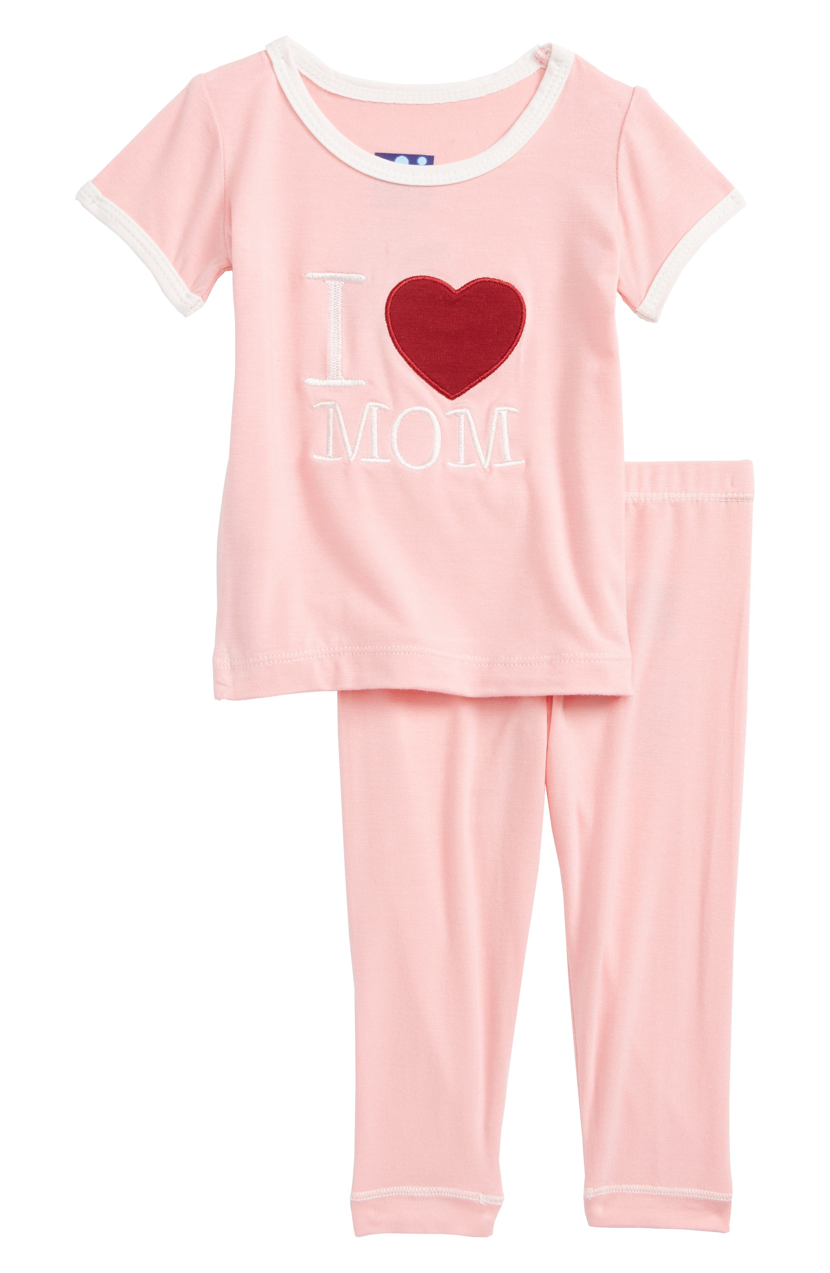 Kickee Pants Two-Piece Fitted Pajamas (Baby Girls)
