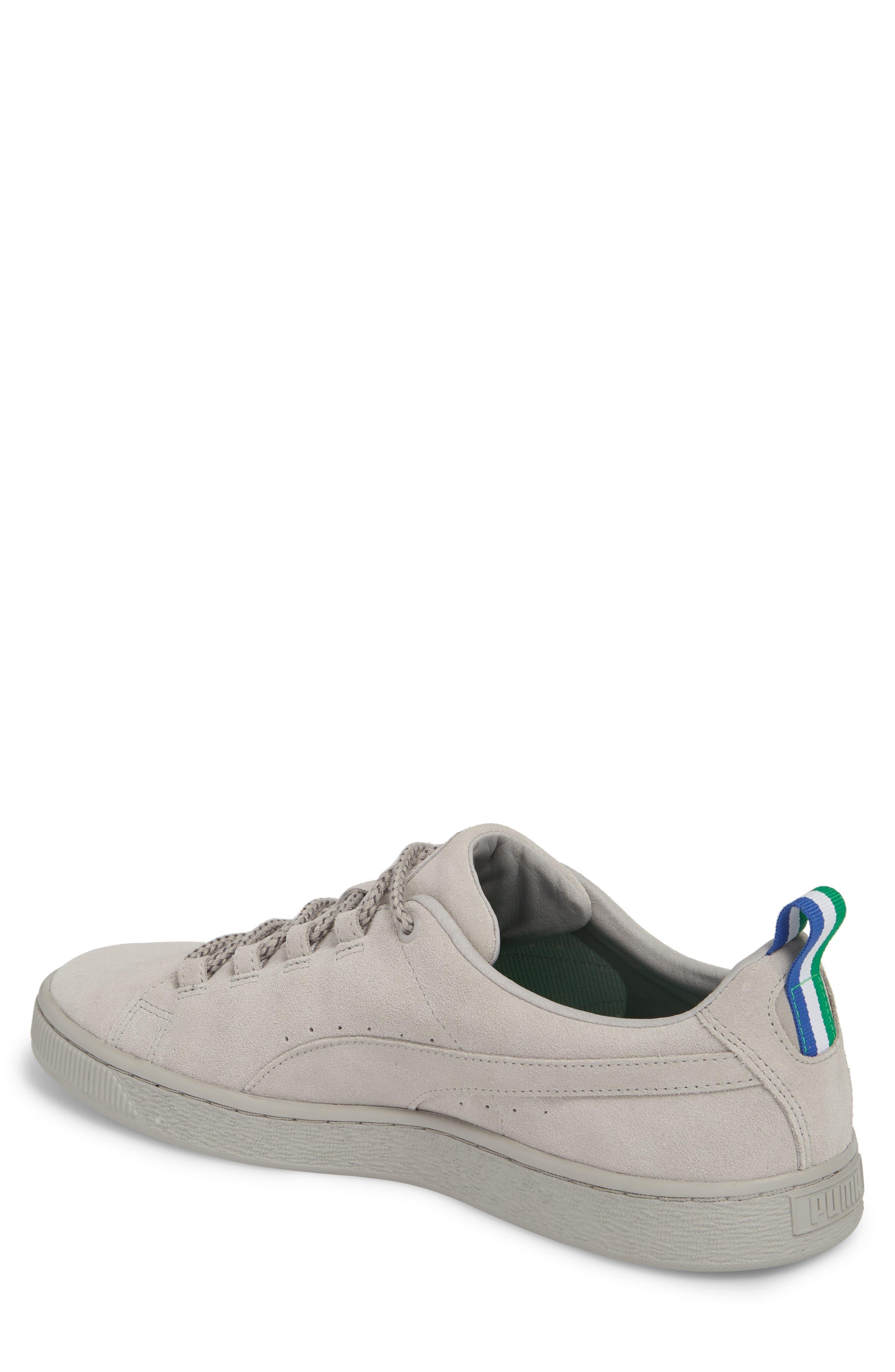x Big Sean Suede Sneaker,                             Alternate thumbnail 2, color,                             Ash Leather/ Suede