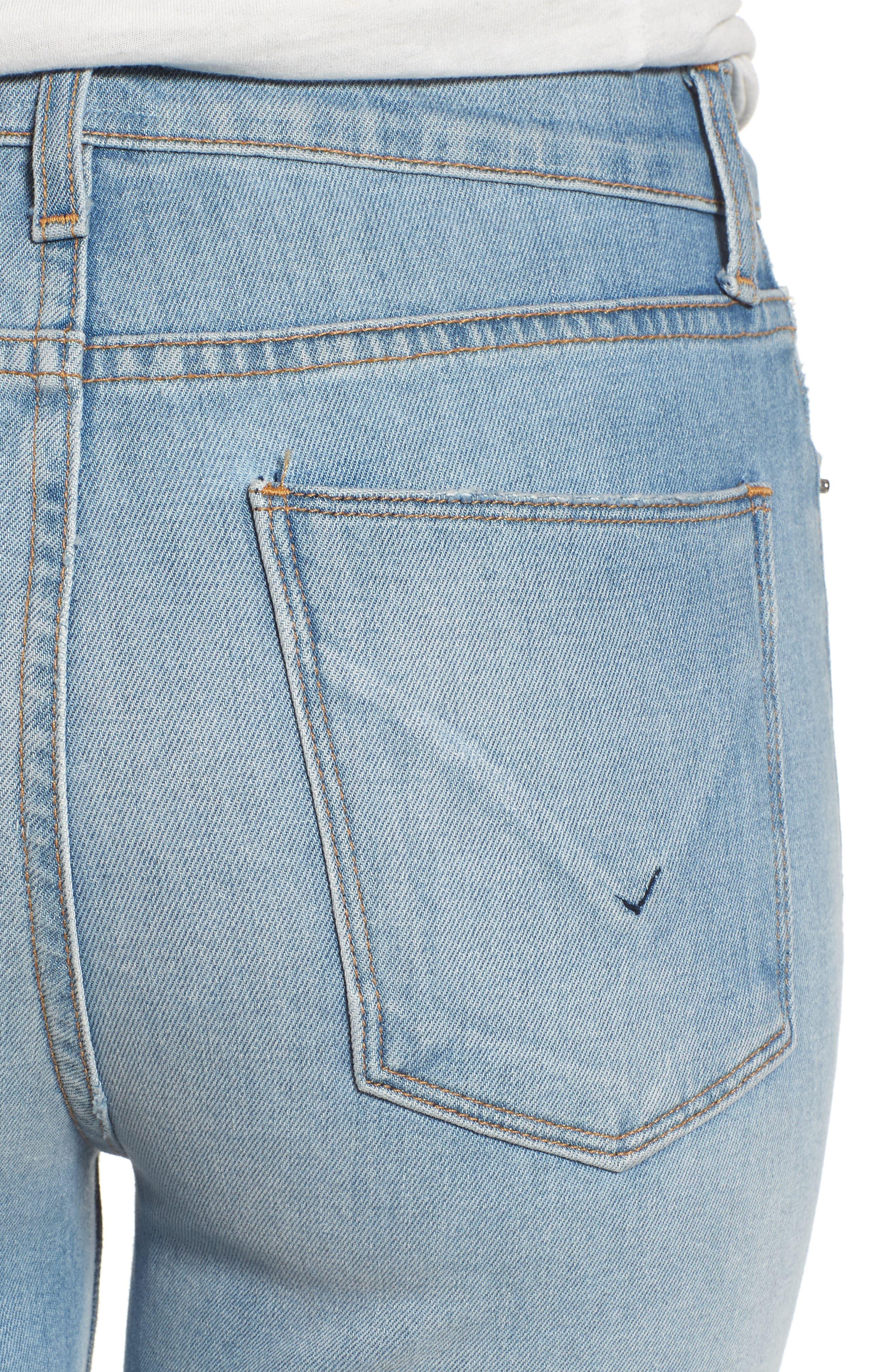 Alternate Image 4  - Hudson Jeans Zoeey High Waist Cutoff Boyfriend Shorts (Love St.)