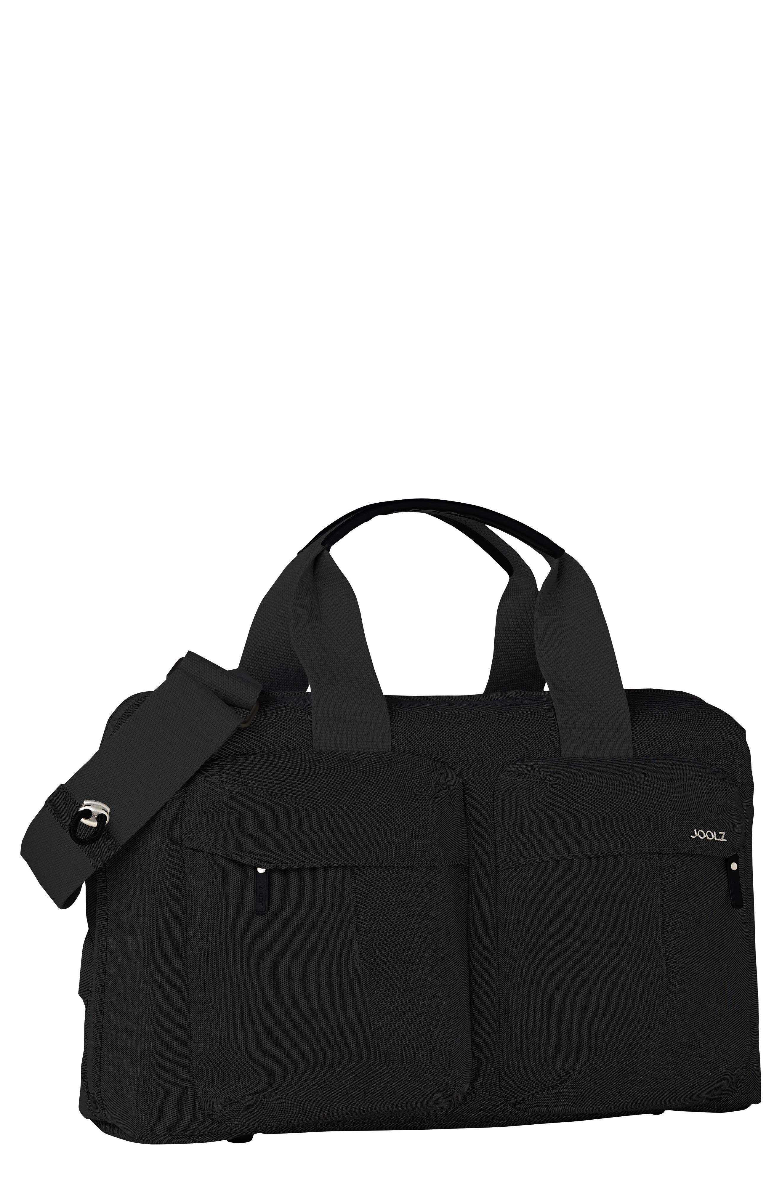 Studio Diaper Bag,                             Main thumbnail 1, color,                             Noir