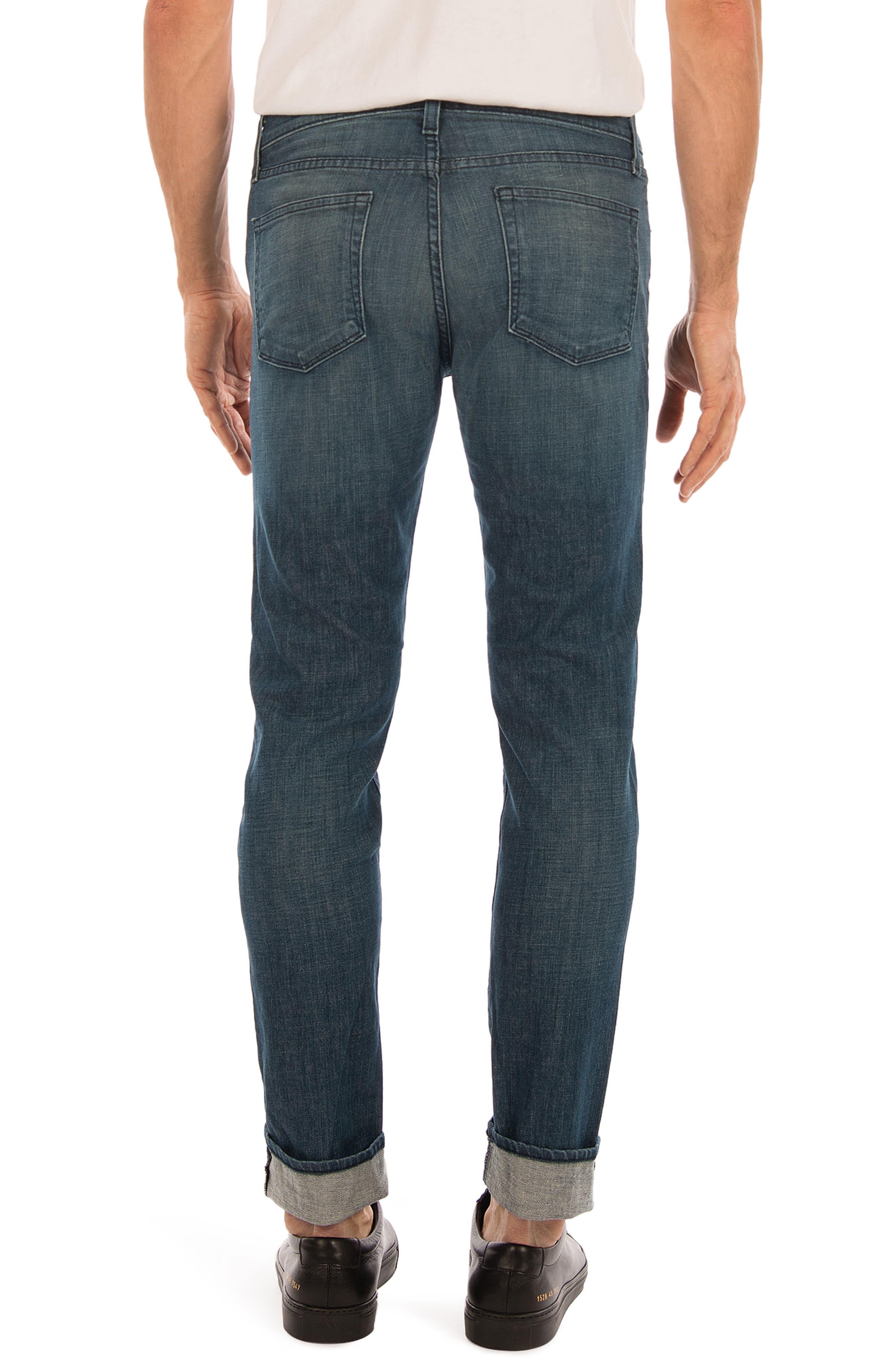Tyler Slim Fit Jeans,                             Alternate thumbnail 2, color,                             Latitude