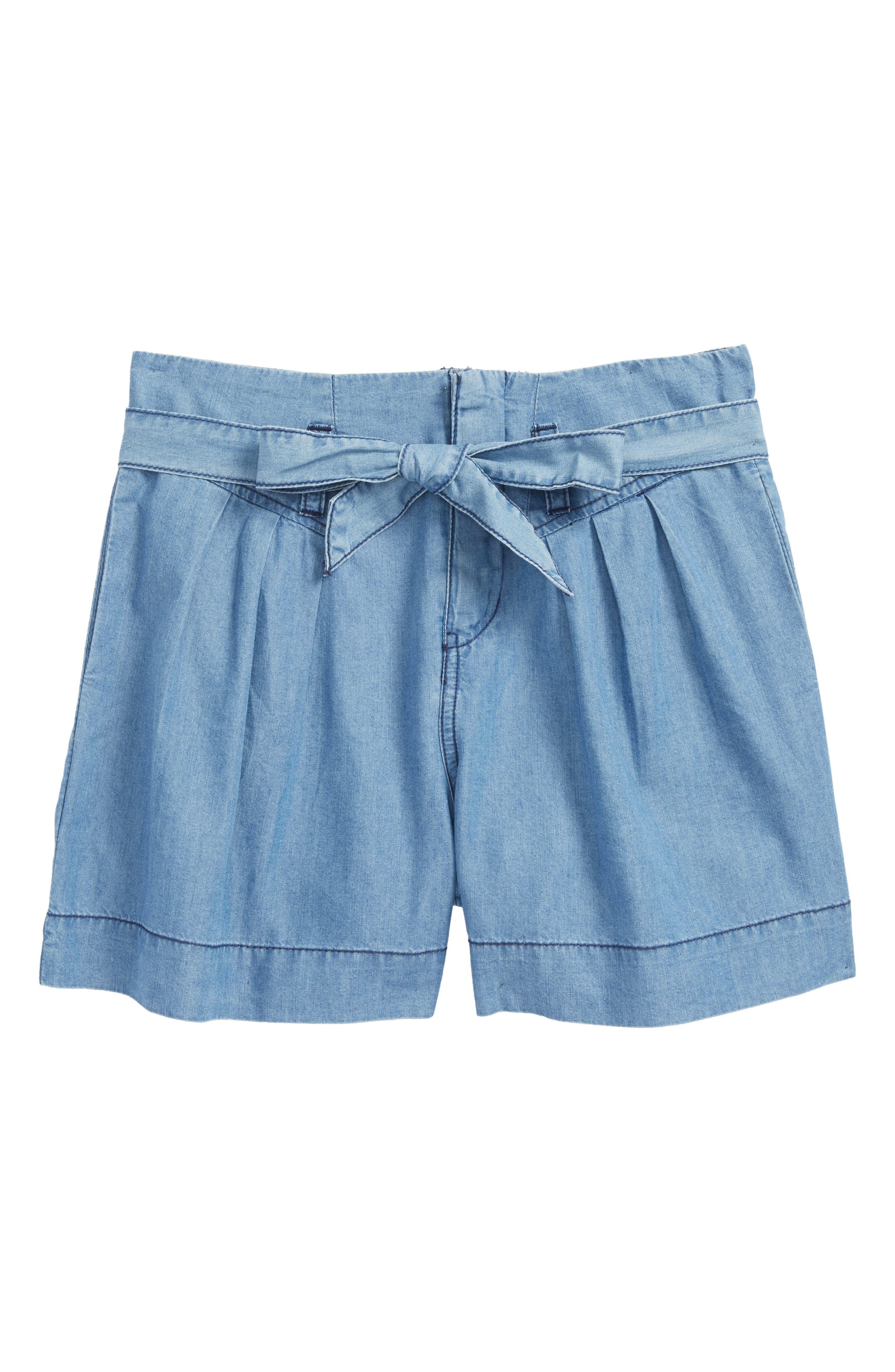 Habitual Girl Lolly Chambray Shorts (Big Girls)