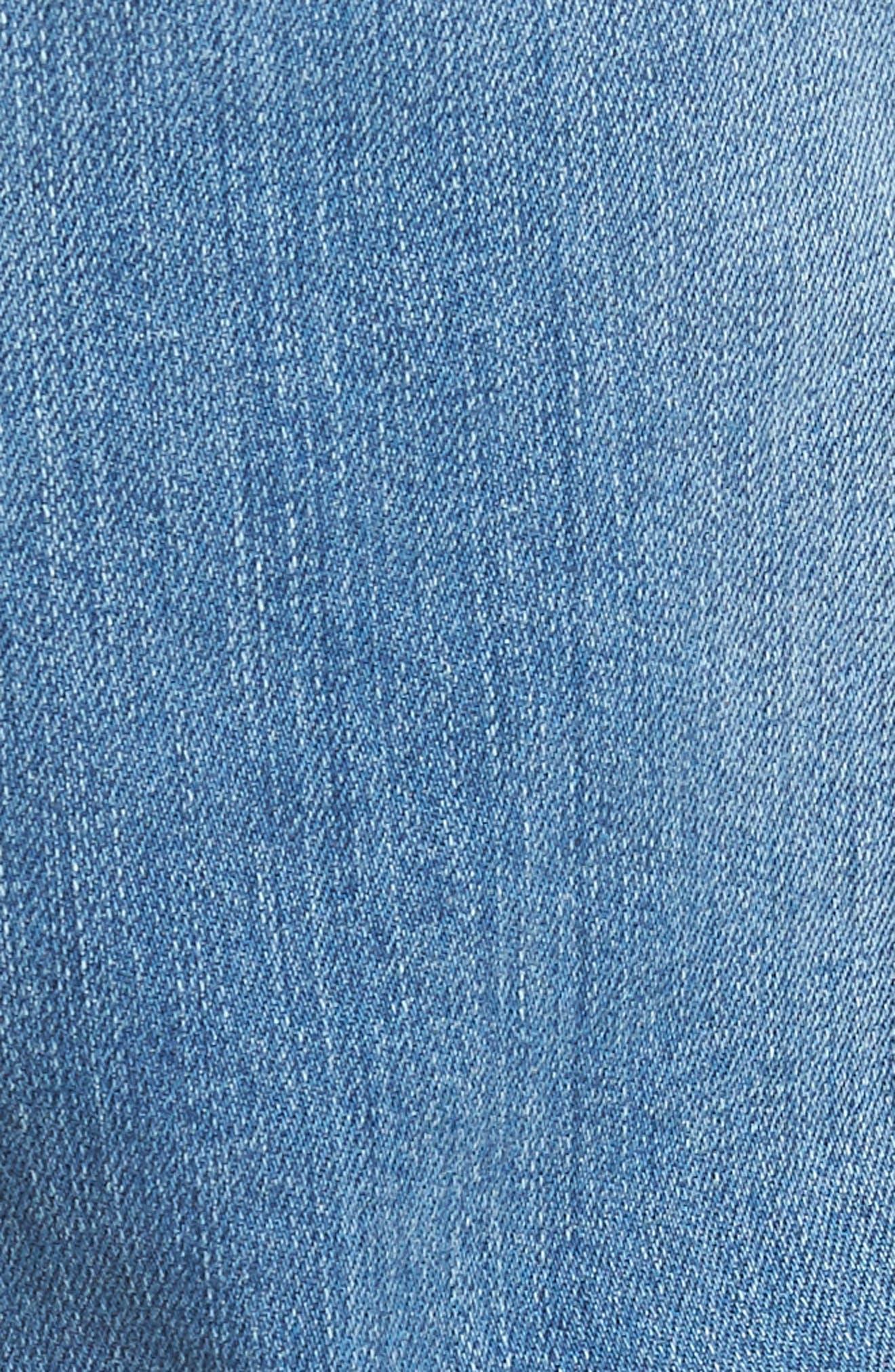 Buster Slim Straight Leg Jeans,                             Alternate thumbnail 5, color,                             Denim