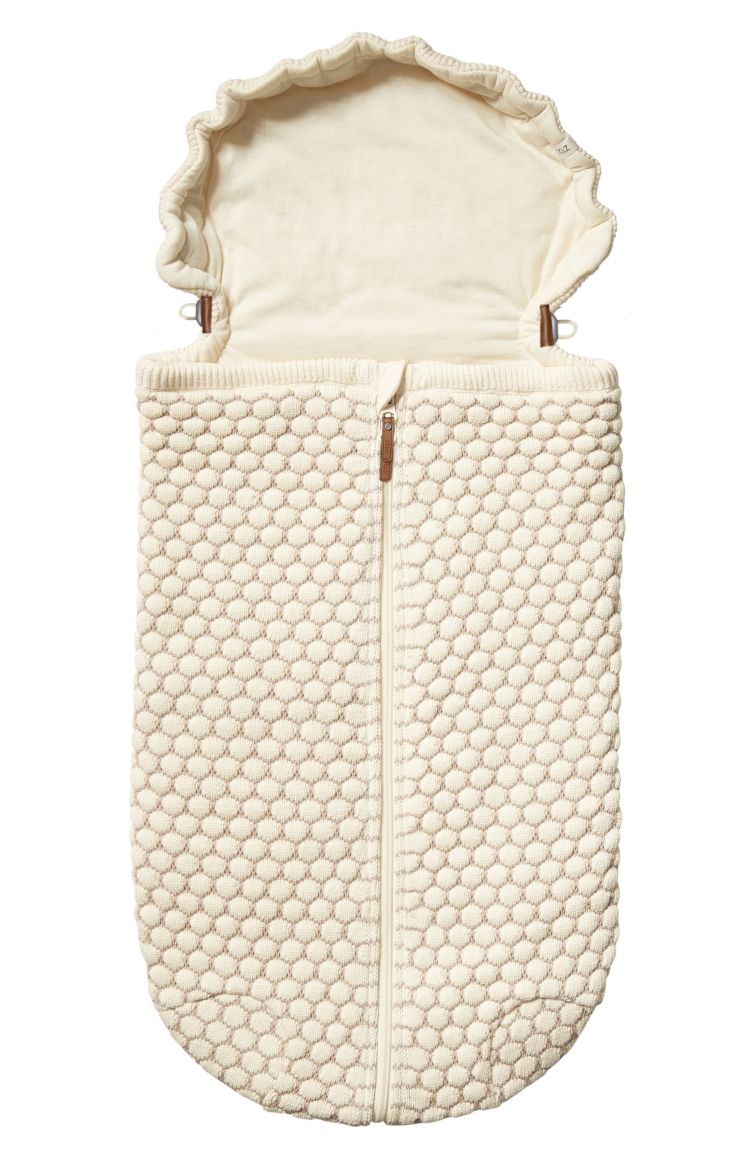 Essentials Honeycomb Organic Cotton Nest,                         Main,                         color, Off White