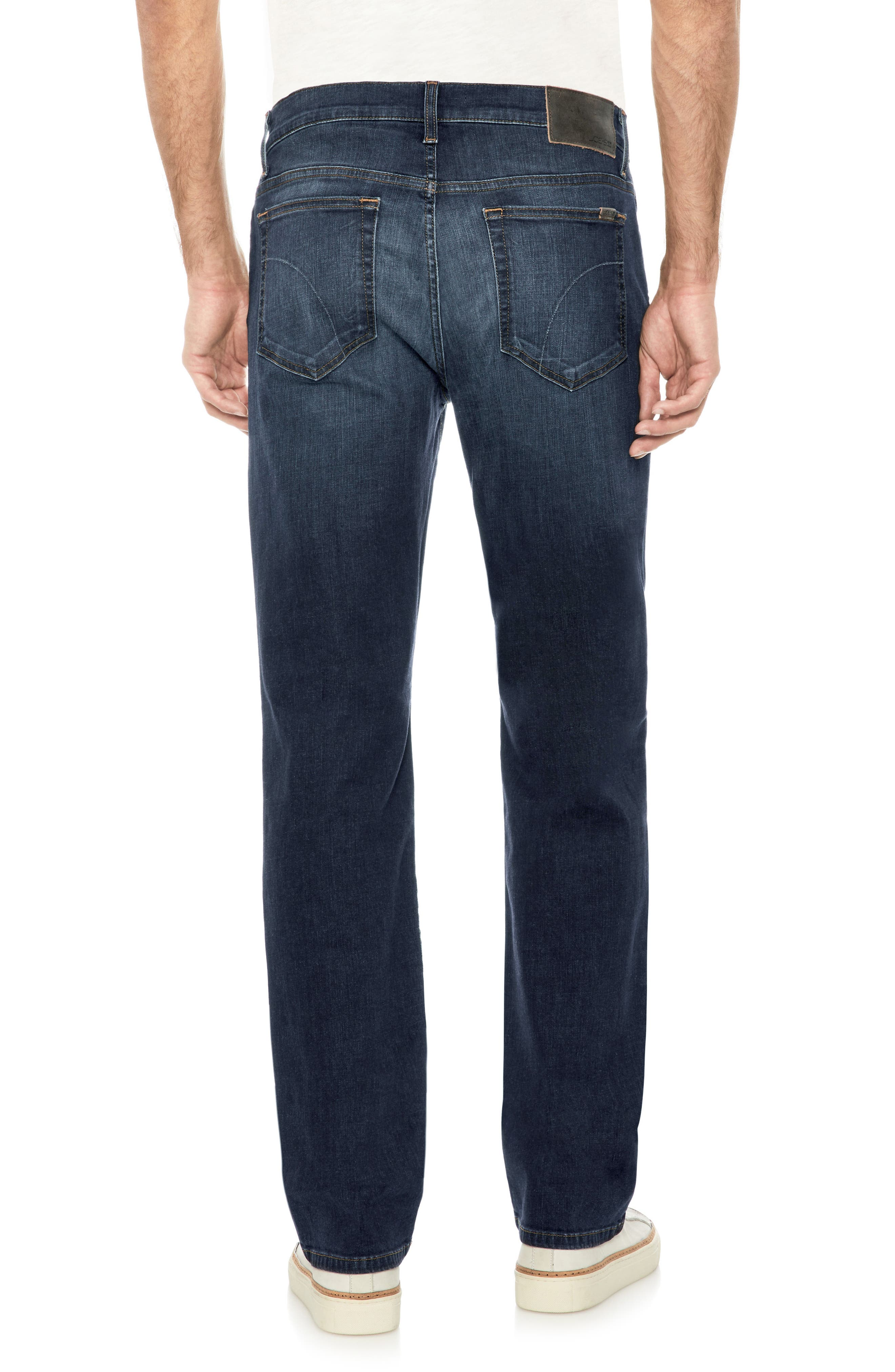 Classic Straight Fit Jeans,                             Alternate thumbnail 2, color,                             Pedro