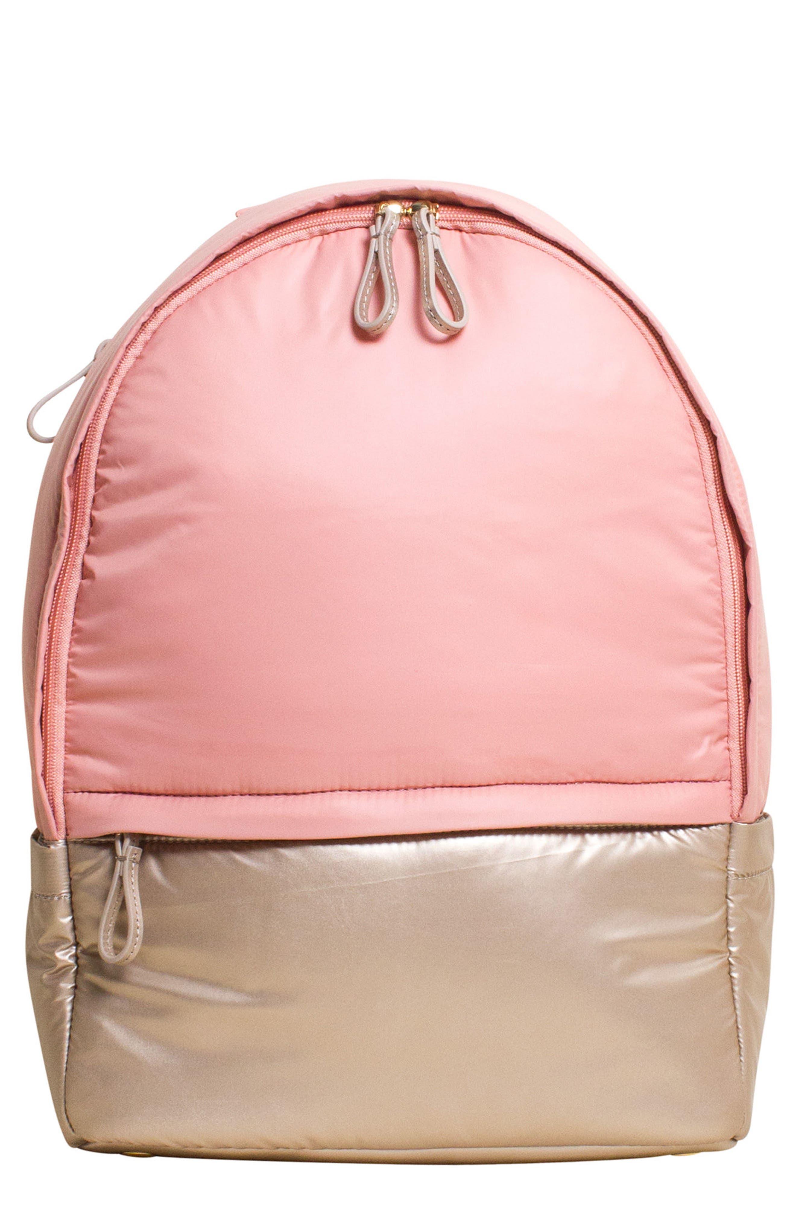 Stratus Waterproof Backpack,                         Main,                         color, Pink