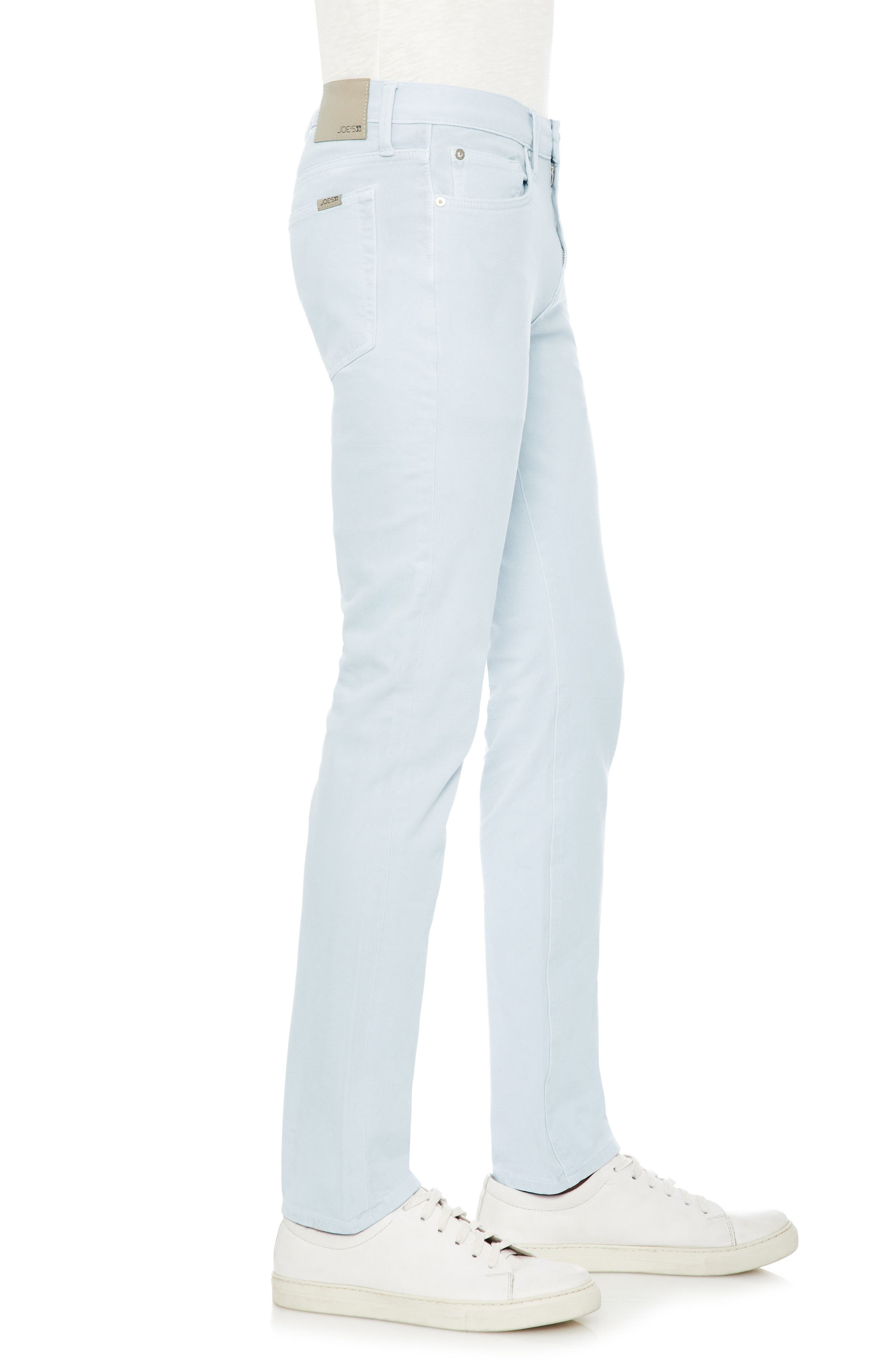 Slim Fit Jeans,                             Alternate thumbnail 3, color,                             Grey Day