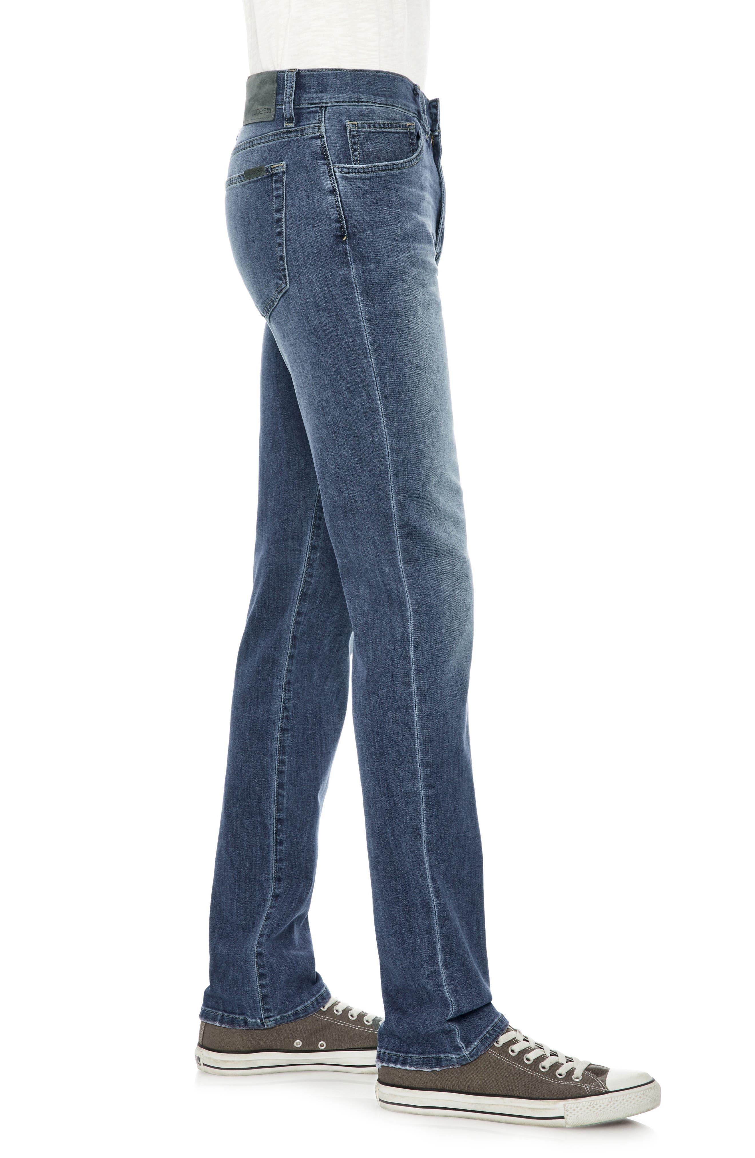 Classic Straight Leg Jeans,                             Alternate thumbnail 3, color,                             Montell