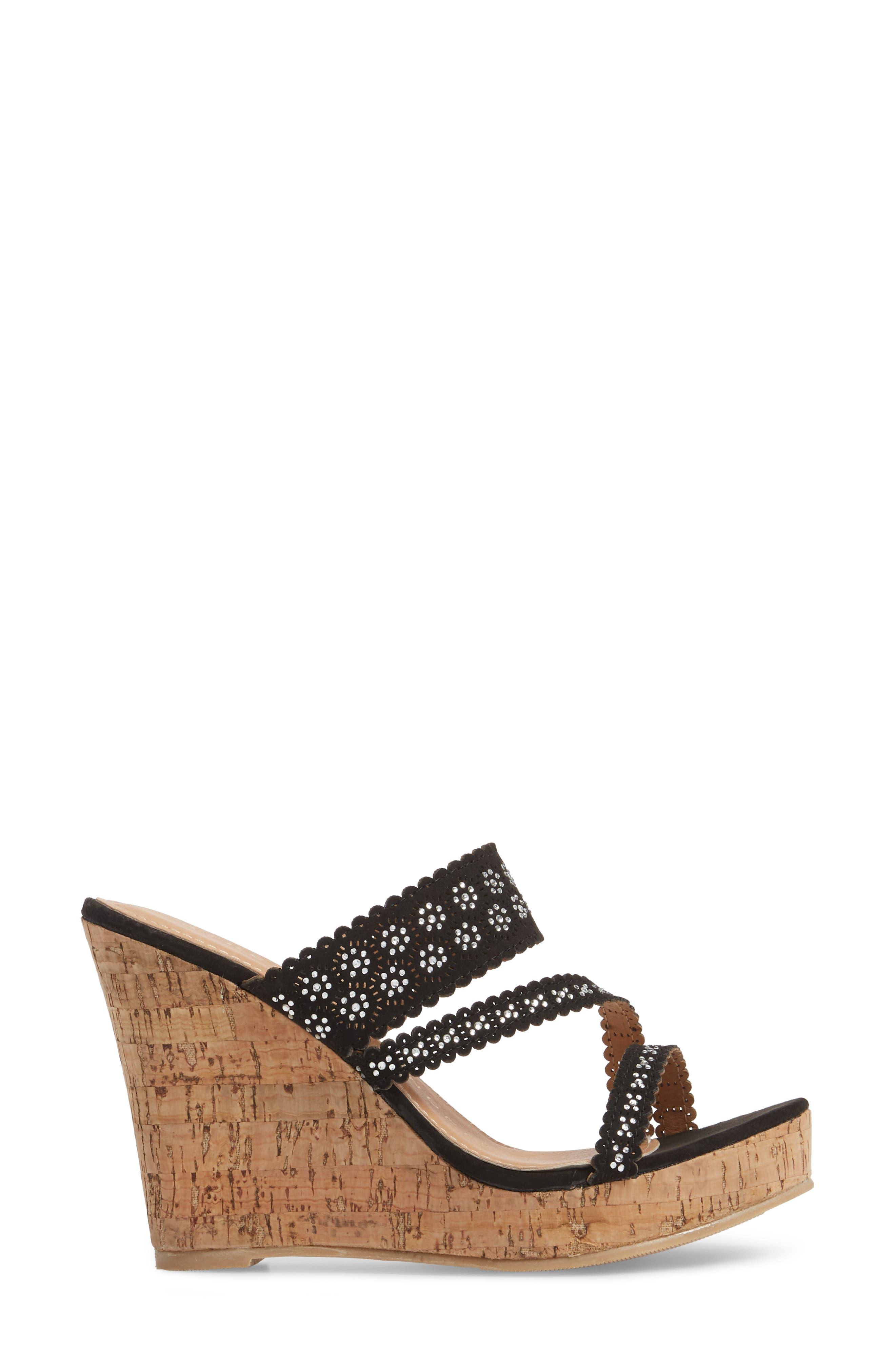 Alternate Image 3  - Athena Alexander Aerin Embellished Wedge Sandal (Women)