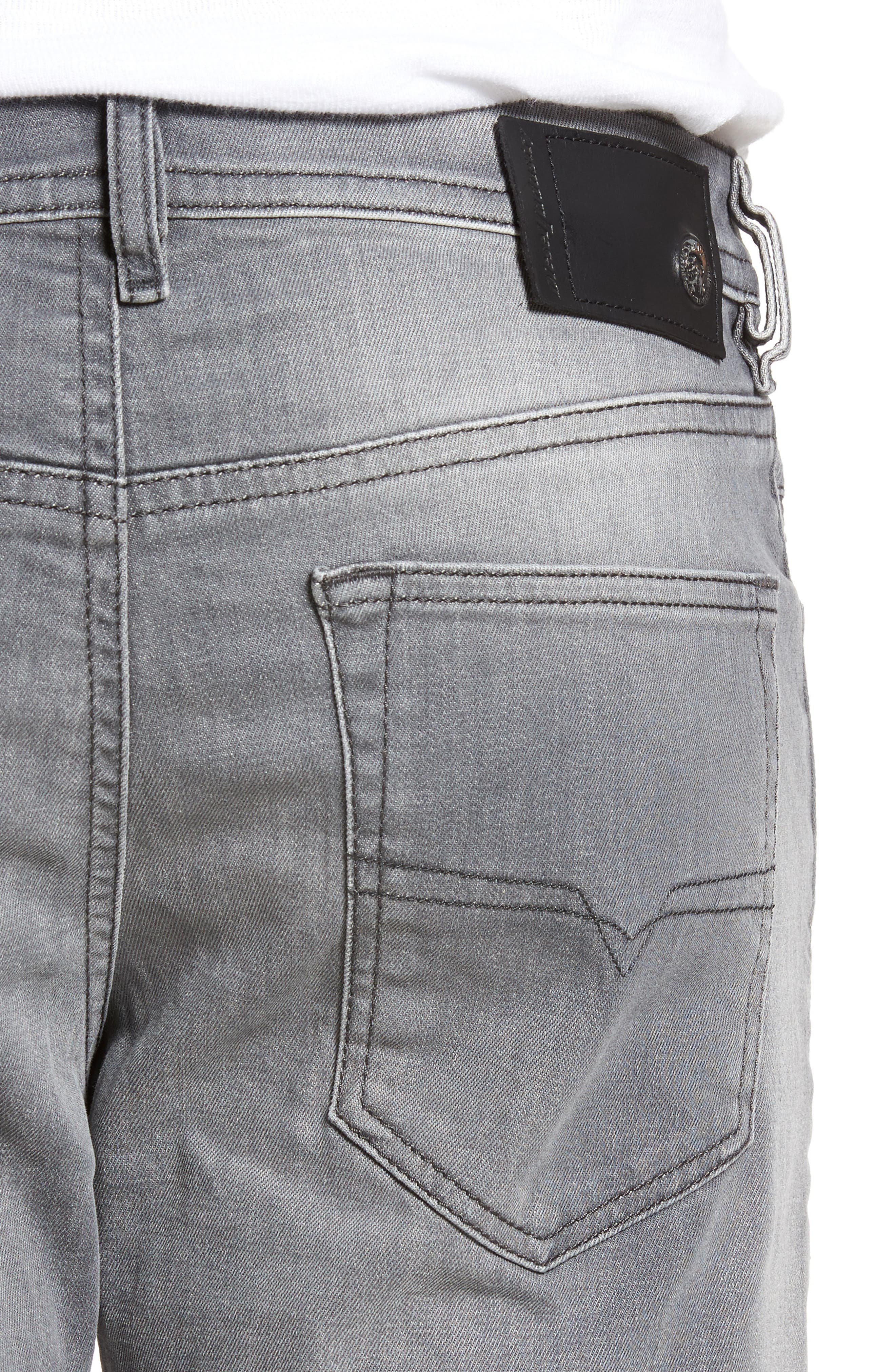 Buster Slim Straight Leg Jeans,                             Alternate thumbnail 4, color,                             084Hp
