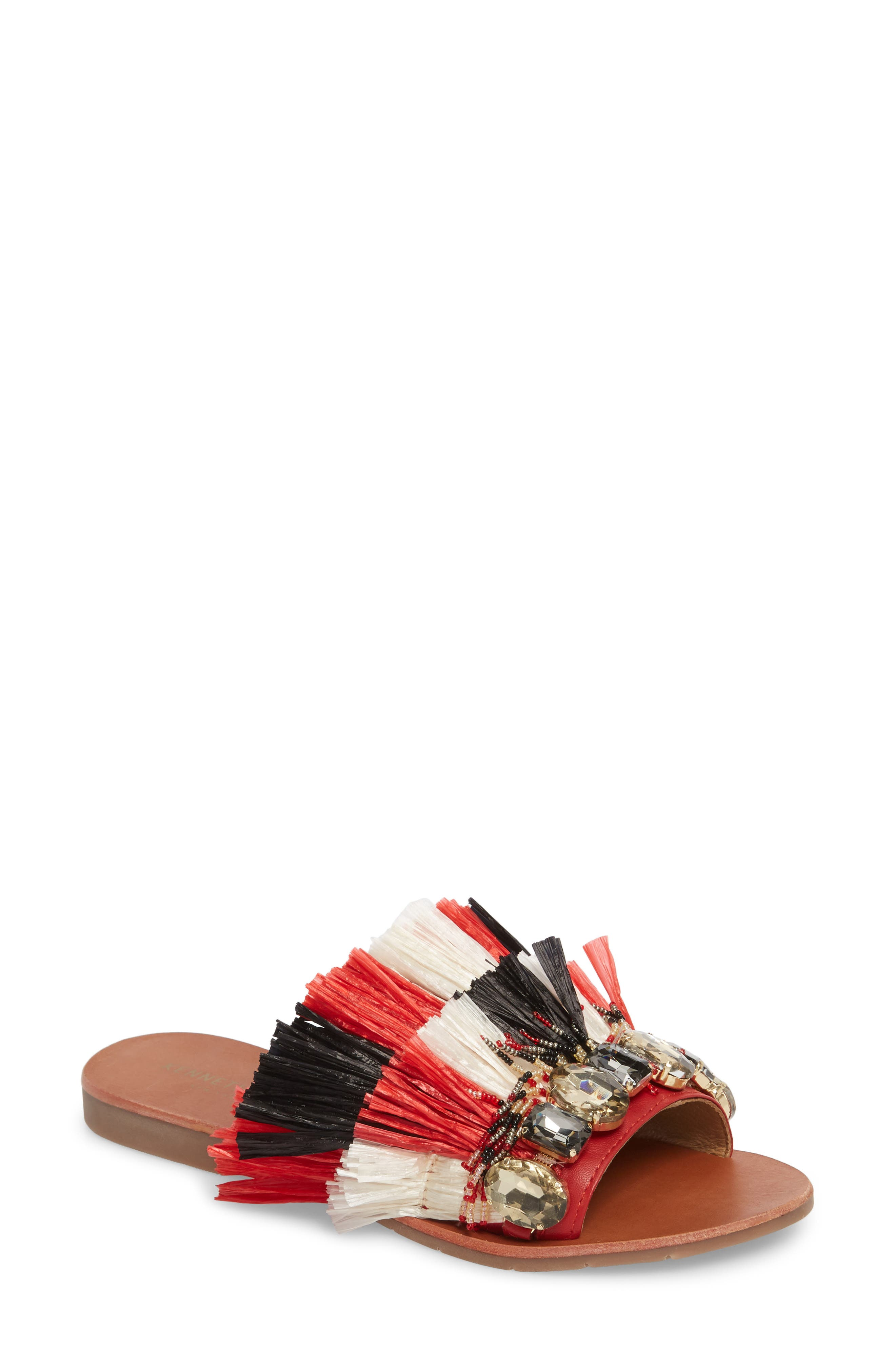 Kenneth Cole New York Women's Heron Slide Sandal Nx3HHas