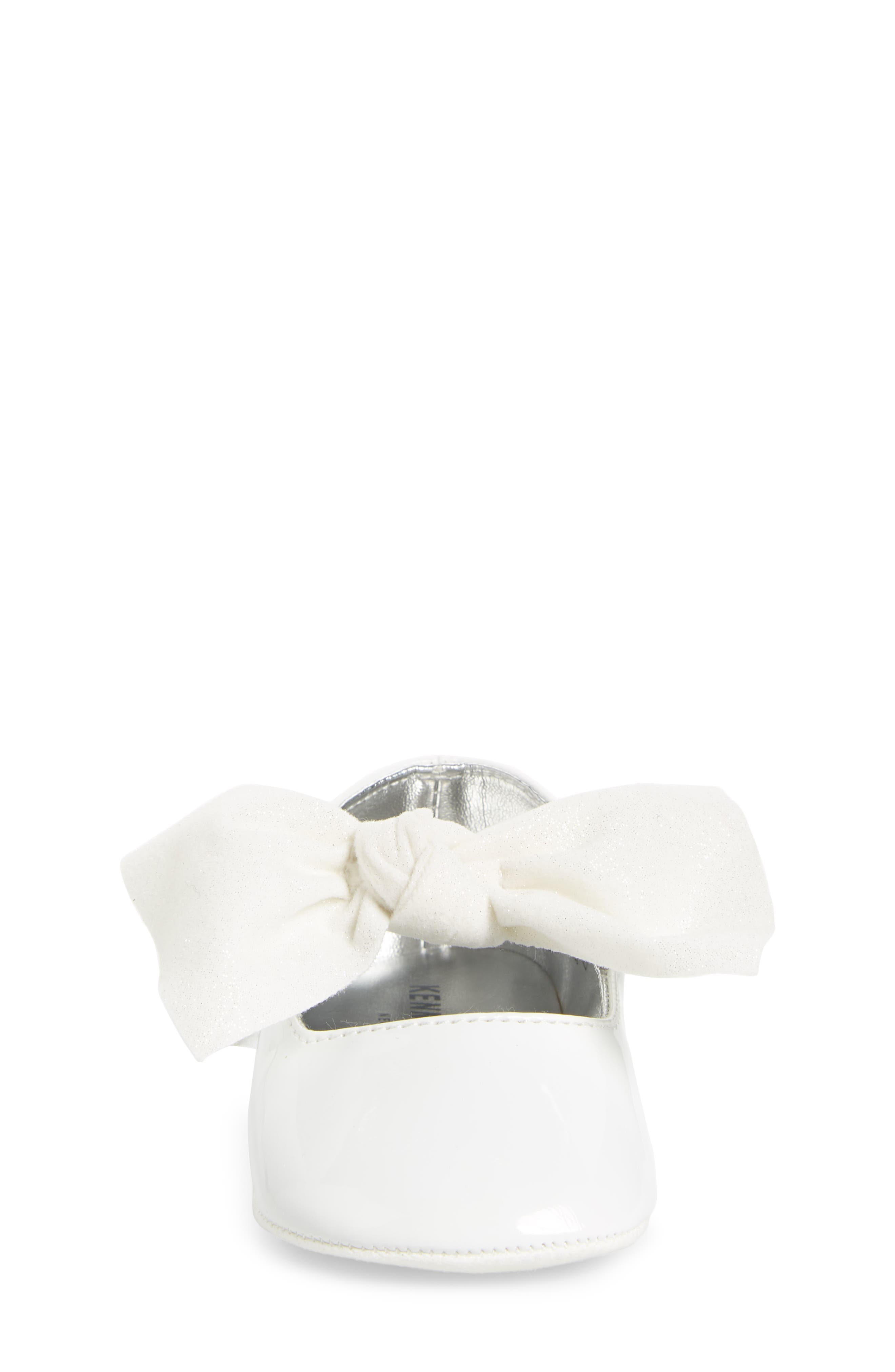 Alternate Image 4  - Kenneth Cole New York Baby Rose Knotted Mary Jane (Baby)