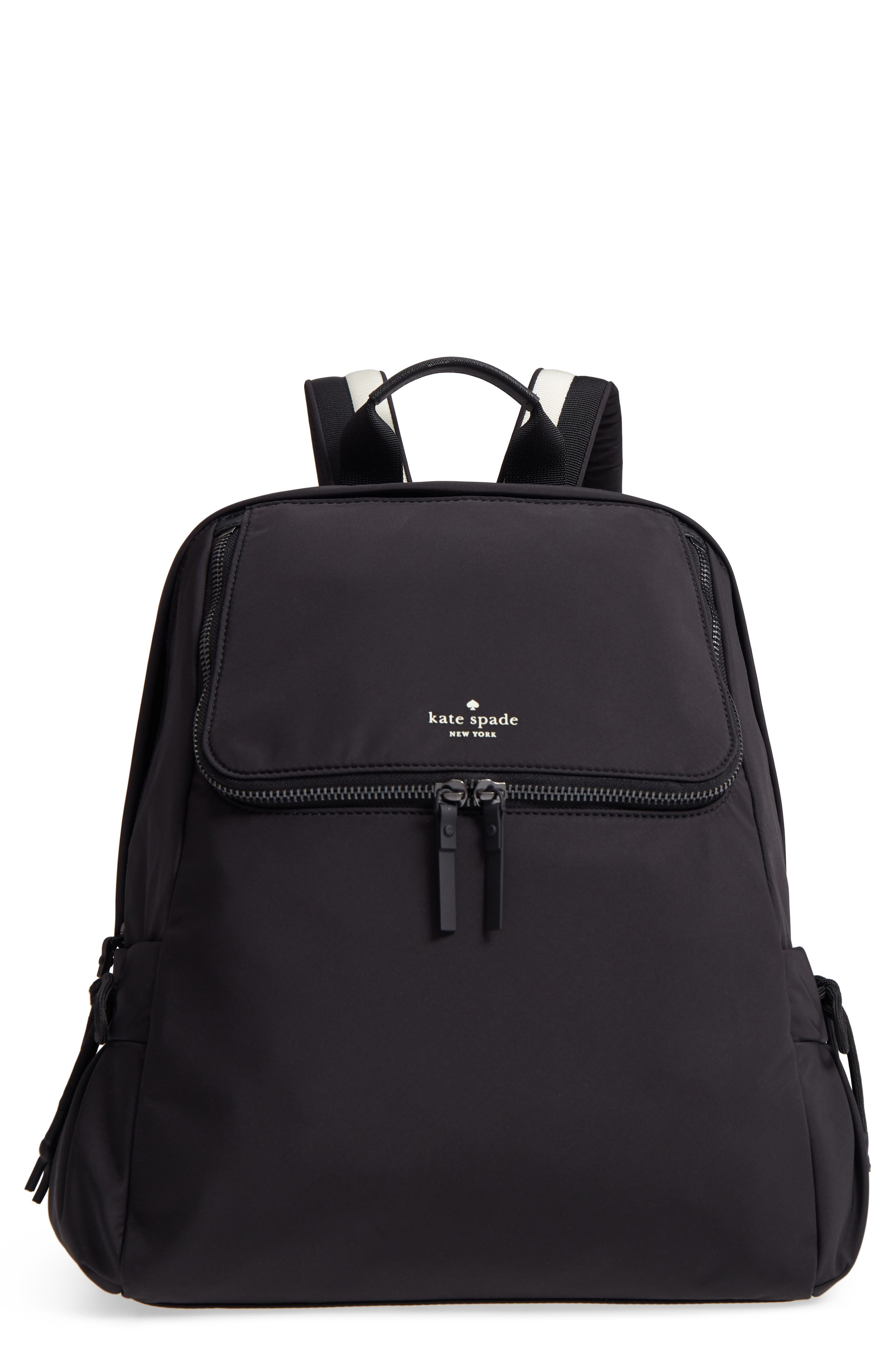 that's the spirit nylon backpack,                         Main,                         color, Black