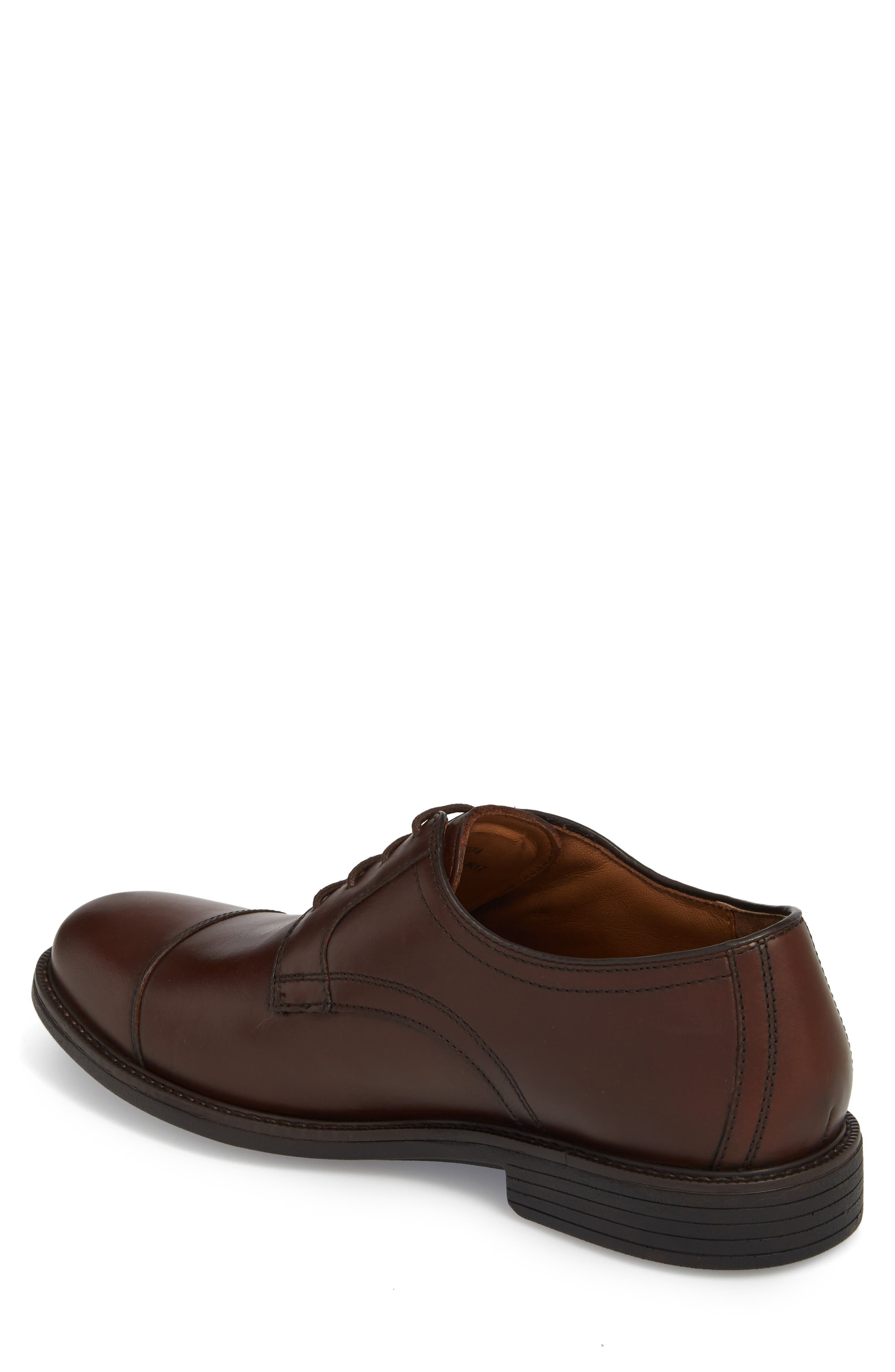 Hollis XC4<sup>®</sup> Waterproof Cap Toe Derby,                             Alternate thumbnail 2, color,                             Oak Brown Leather