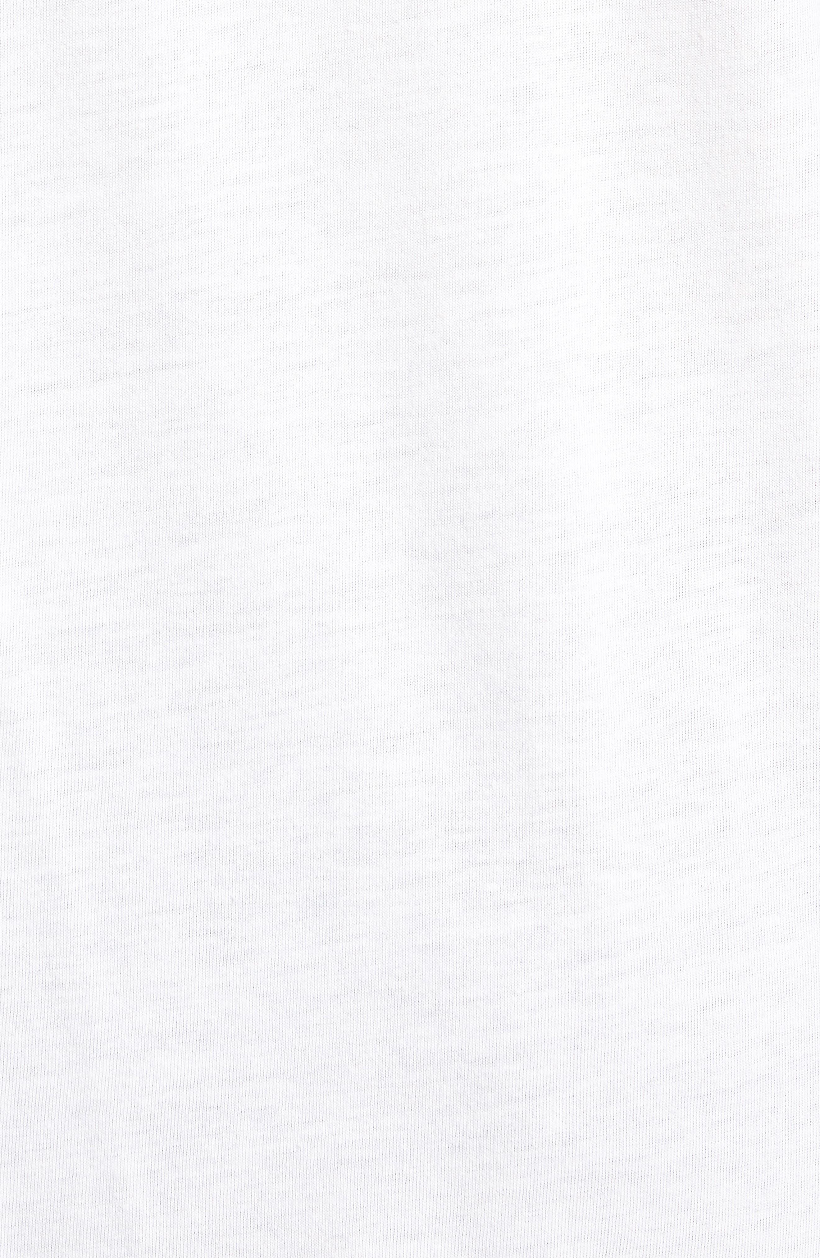 Rasta Flag Muscle Tank,                             Alternate thumbnail 5, color,                             Whisper White