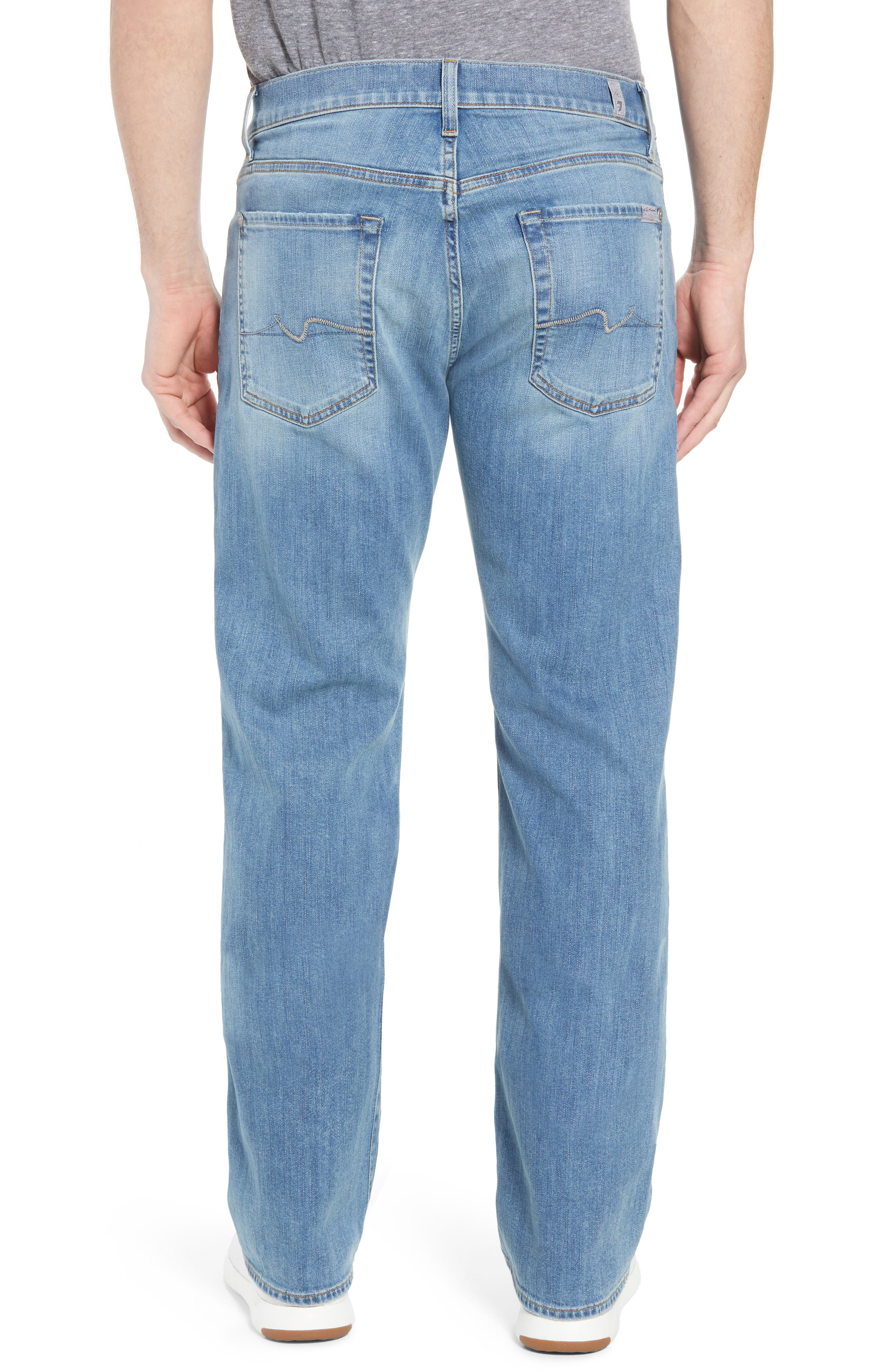 Austyn - Luxe Performance Relaxed Fit Jeans,                             Alternate thumbnail 2, color,                             Vahalla