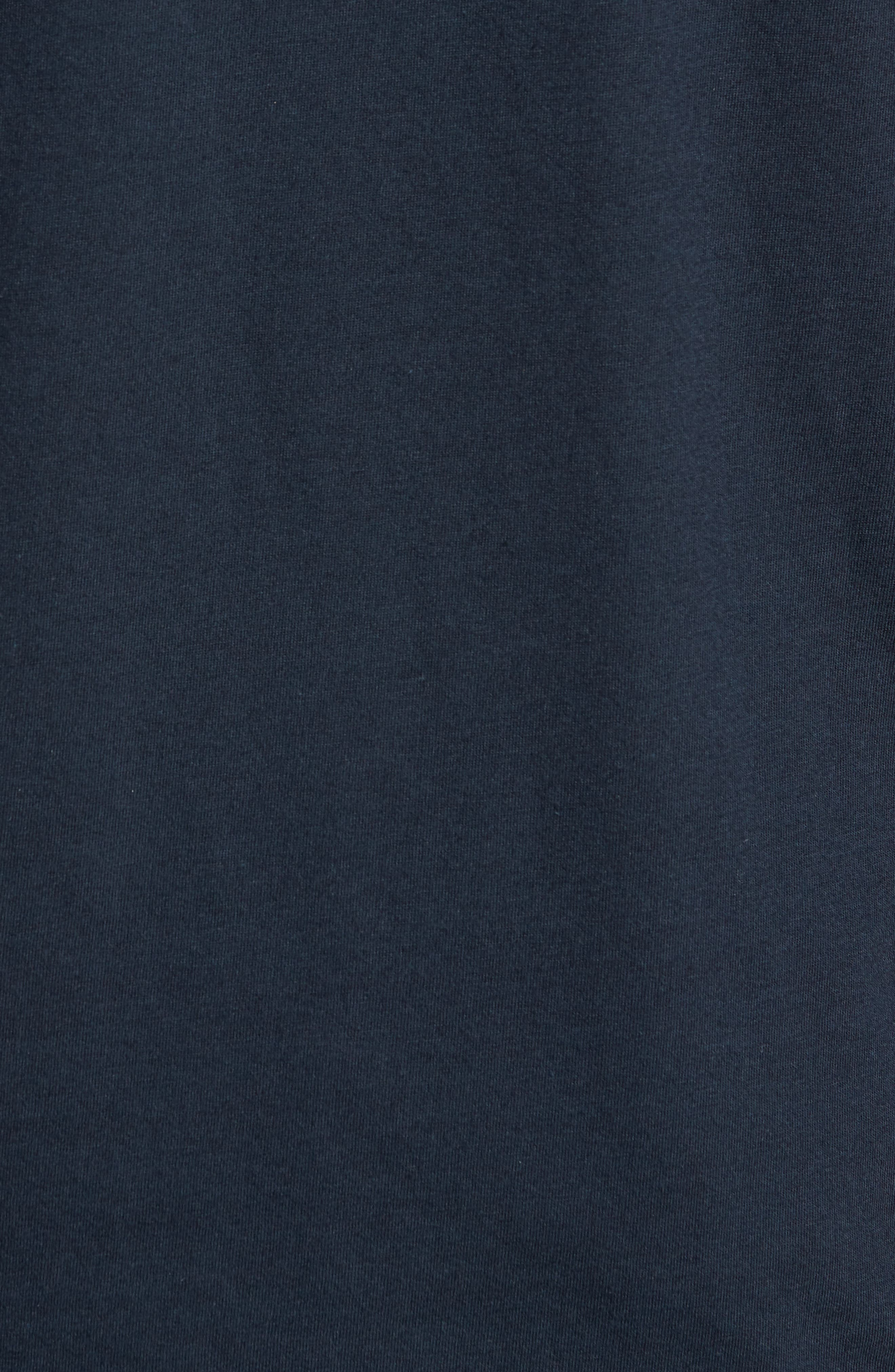 Nirvana Camo T-Shirt,                             Alternate thumbnail 5, color,                             Salute/ Navy