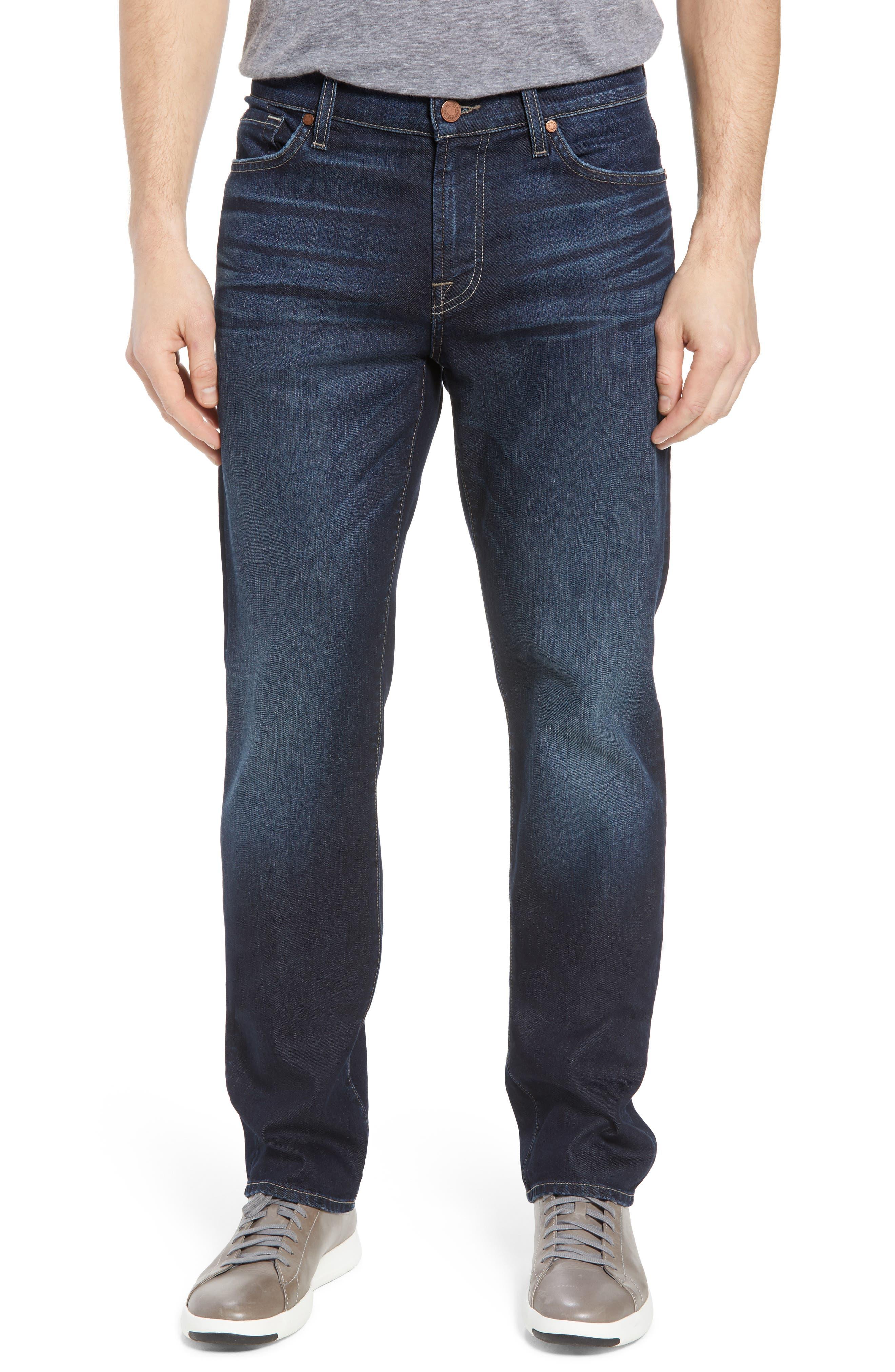 Airweft Standard Straight Leg Jeans,                             Main thumbnail 1, color,                             Concierge