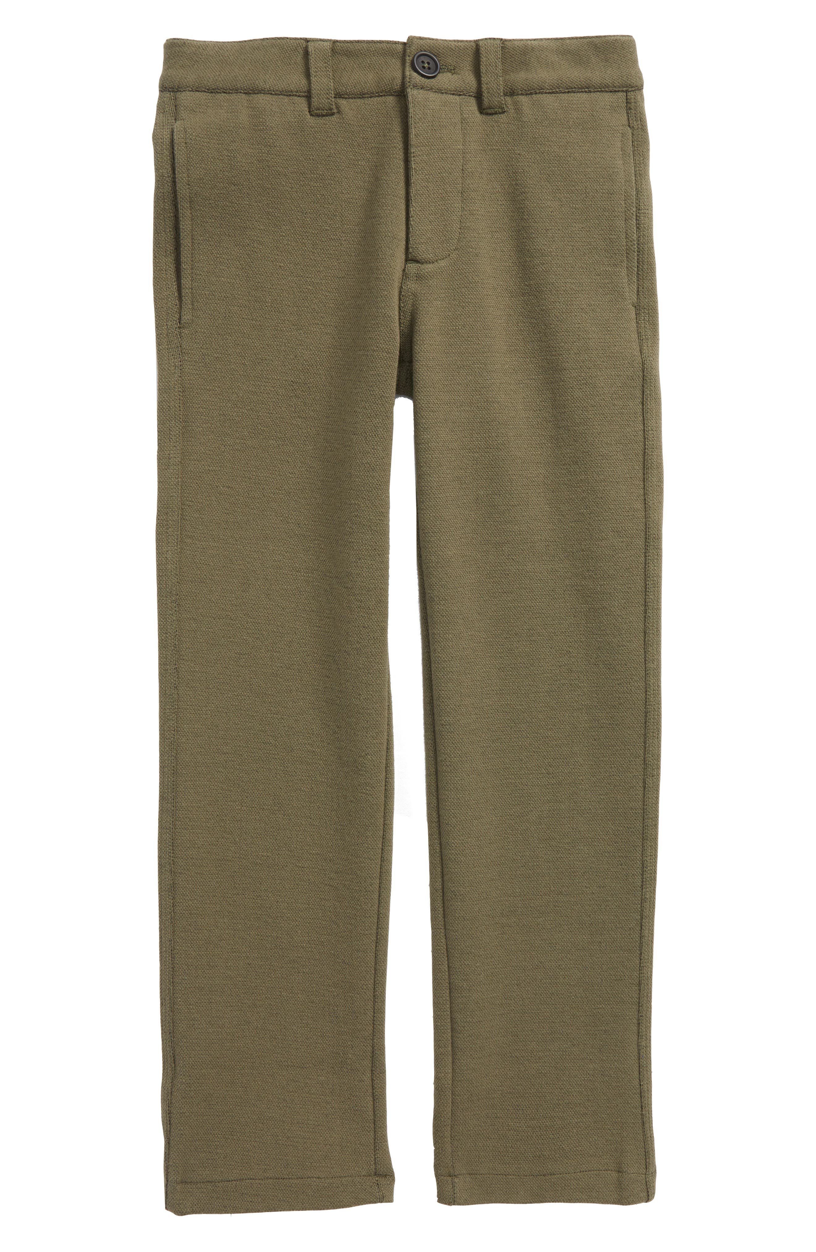 Mini Boden Jersey Chino Pants (Toddler Boys, Little Boys & Big Boys)