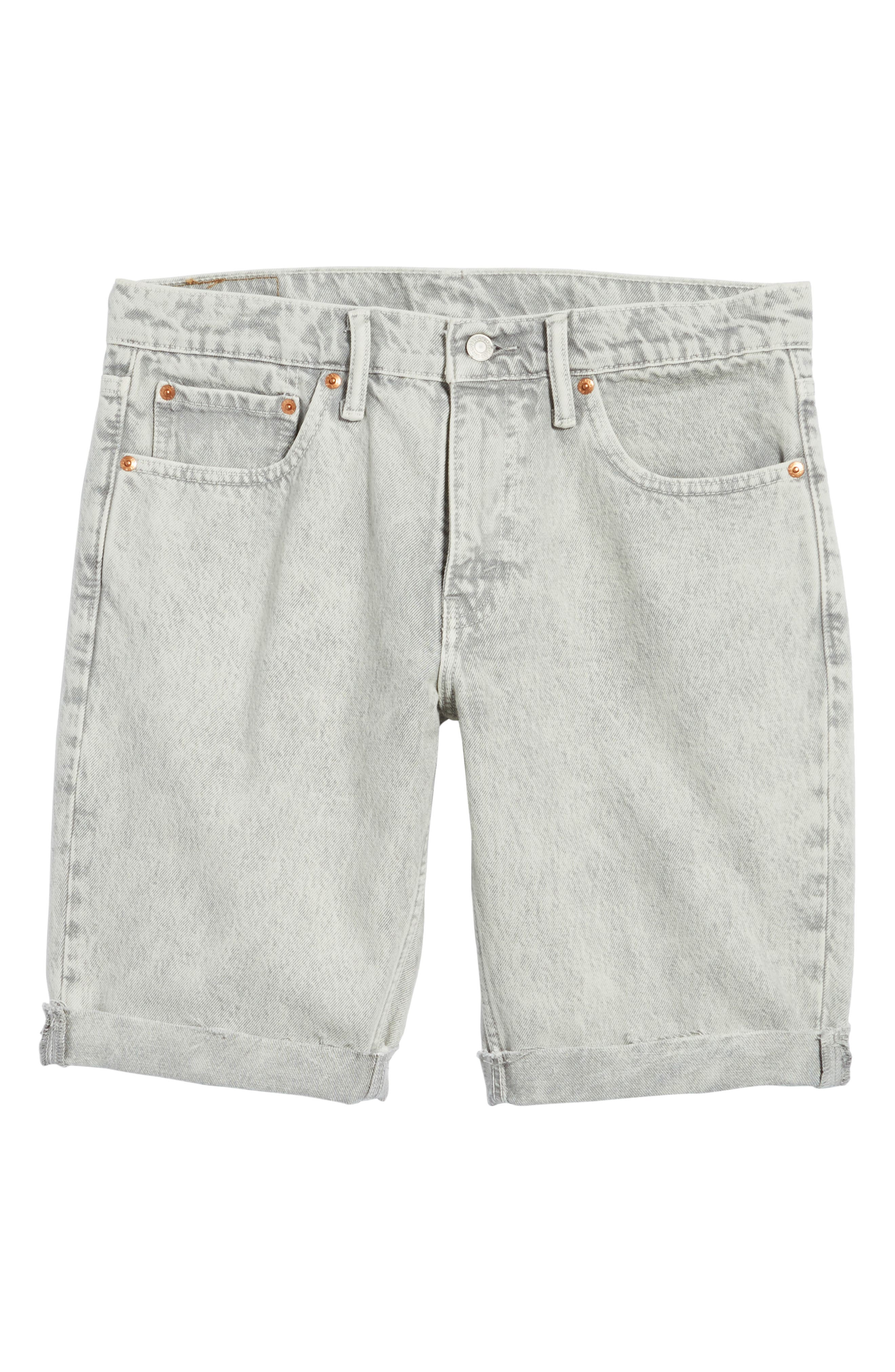 511<sup>™</sup> Cutoff Slim Fit Shorts,                             Alternate thumbnail 6, color,                             Silver Slippers