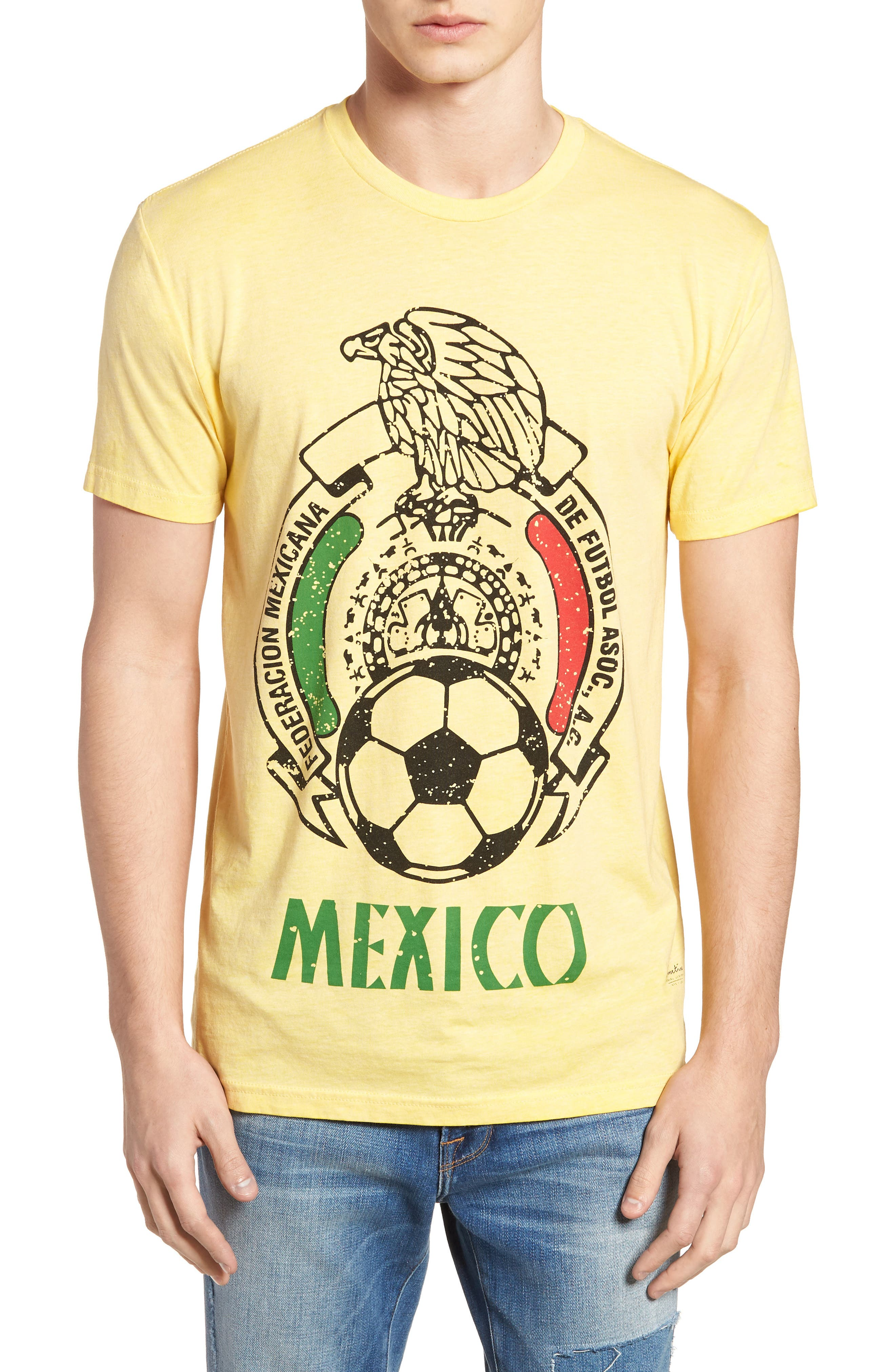 Mexico Jersey T-Shirt,                         Main,                         color, Yellow