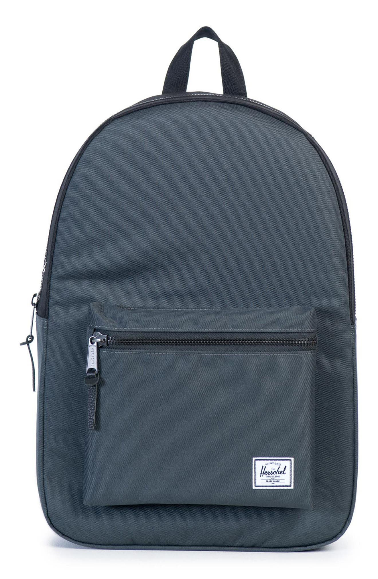 Settlement Backpack,                         Main,                         color, Dark Shadow/ Black