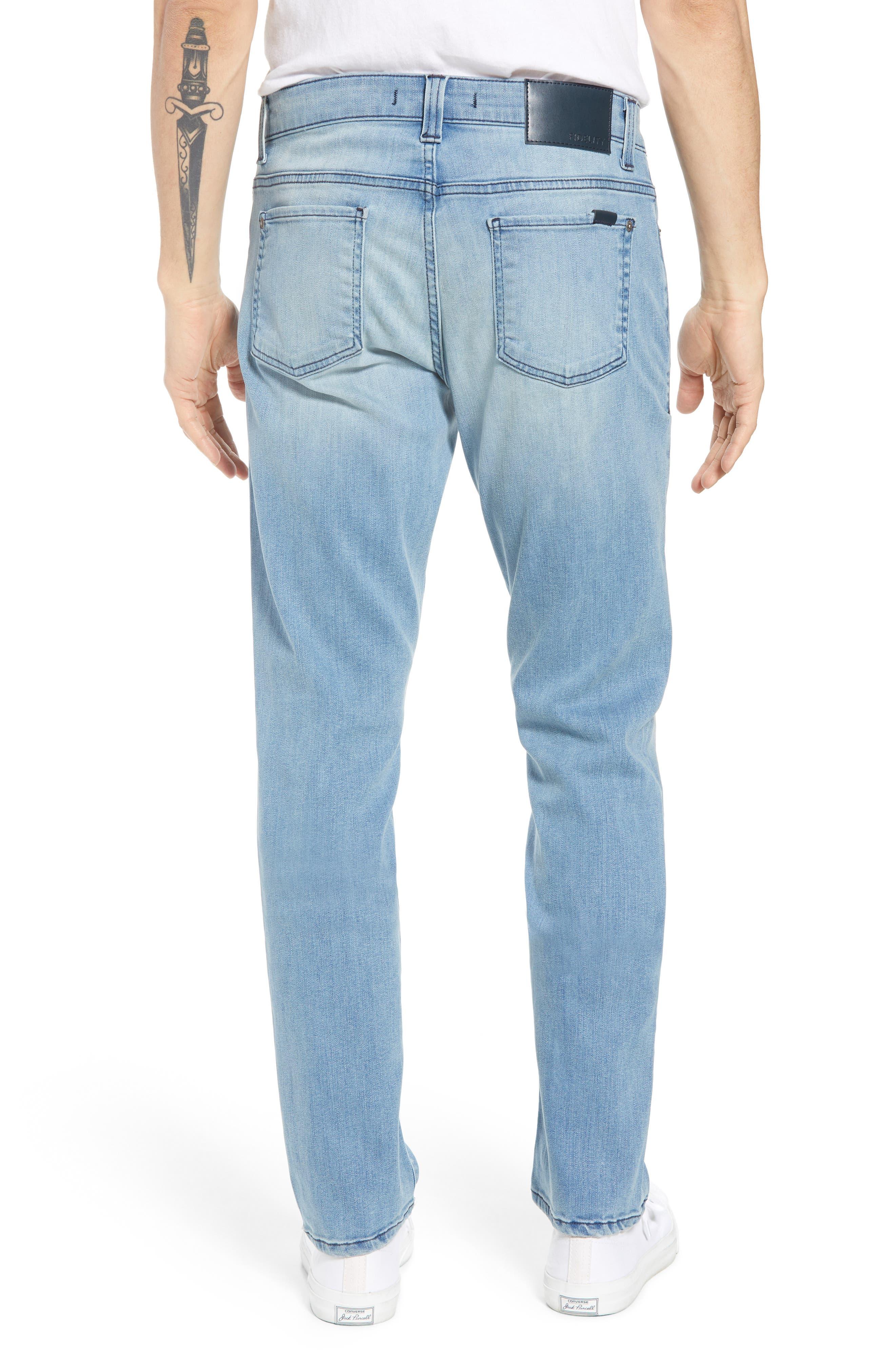 Torino Slim Fit Jeans,                             Alternate thumbnail 2, color,                             Abbey Blue