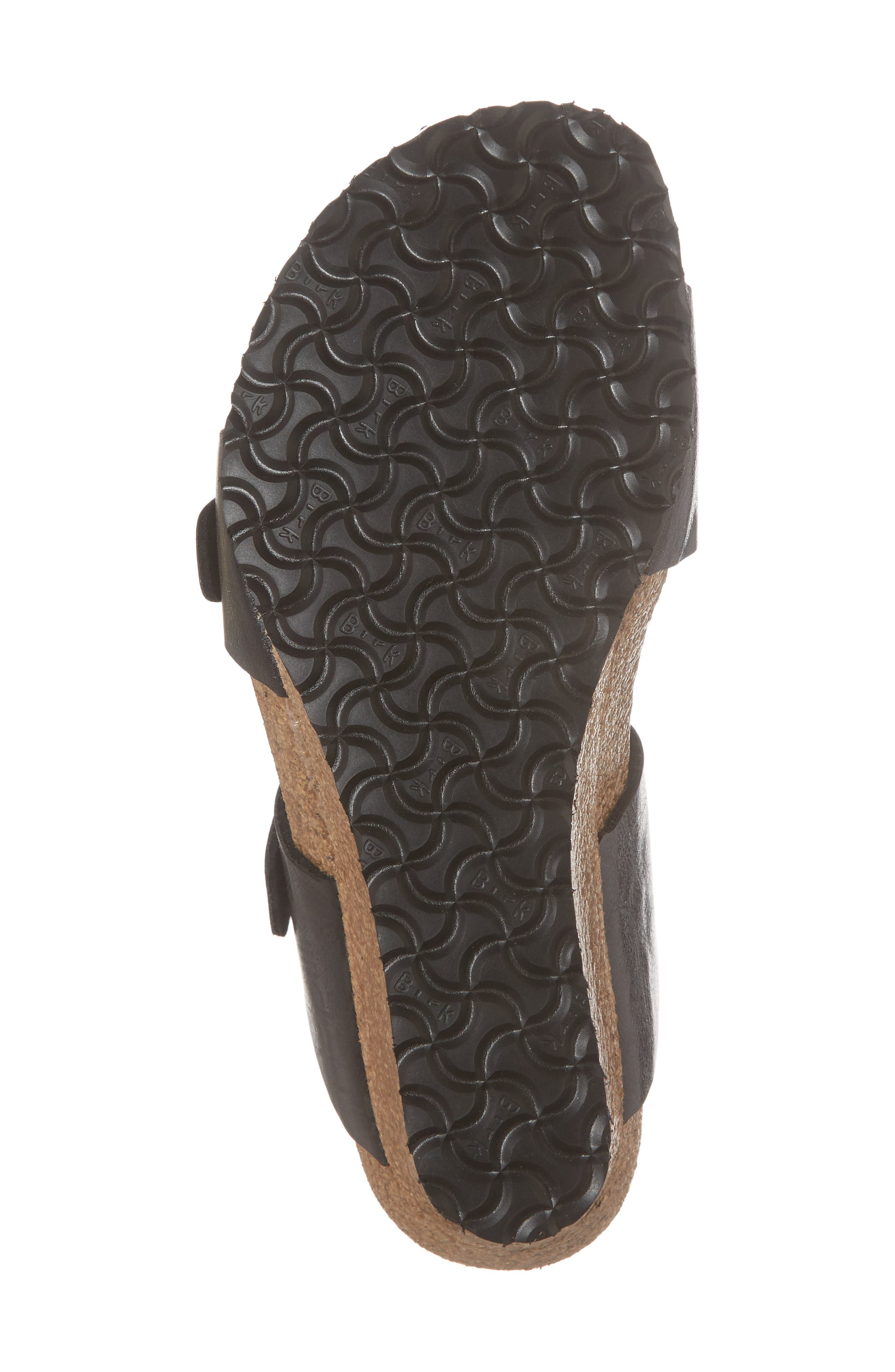 Papillio by Birkenstock Dorothy Wedge Slide Sandal,                             Alternate thumbnail 6, color,                             Graceful Licorice Leather