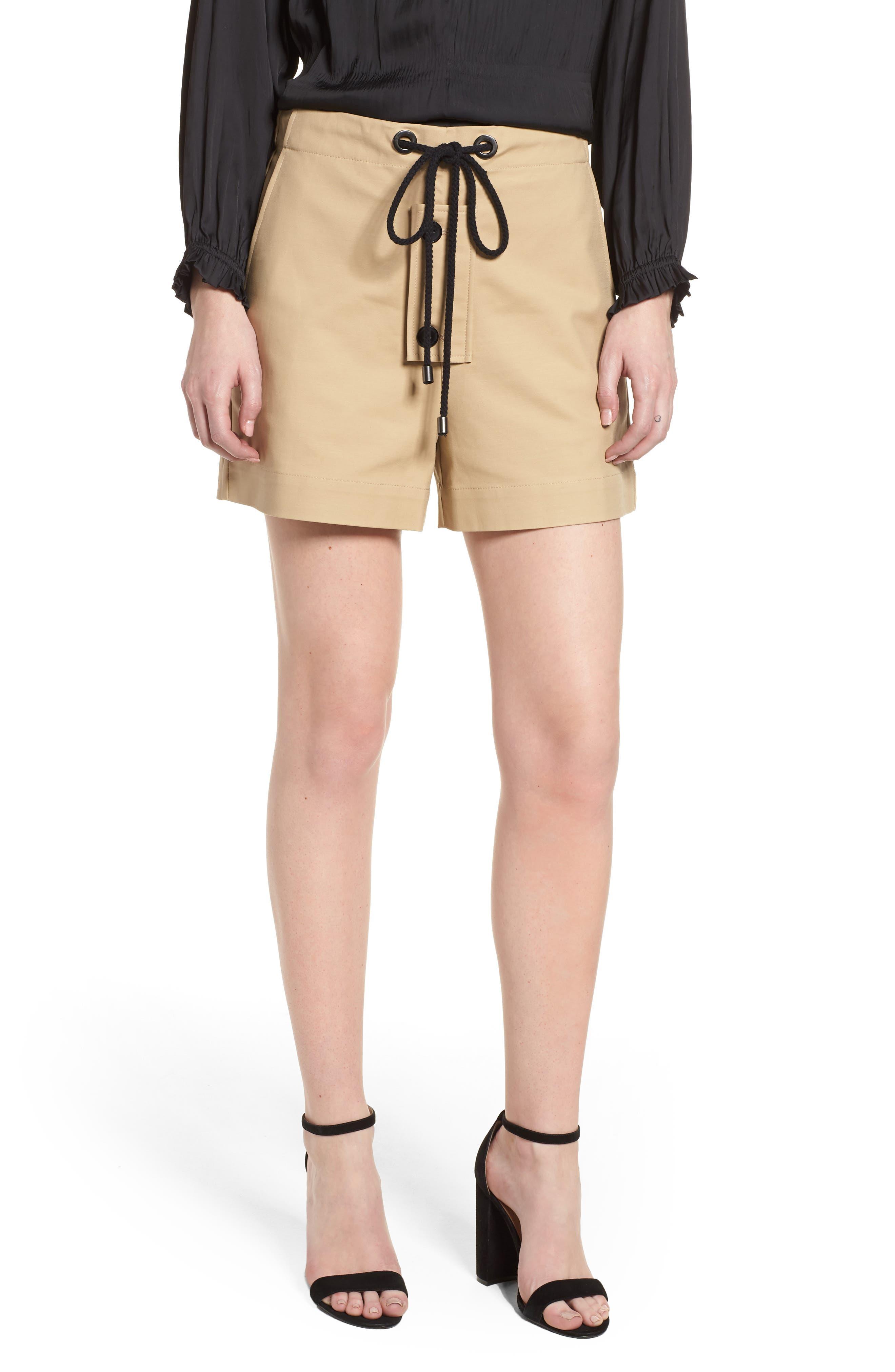 Park South Shorts,                         Main,                         color, Beige