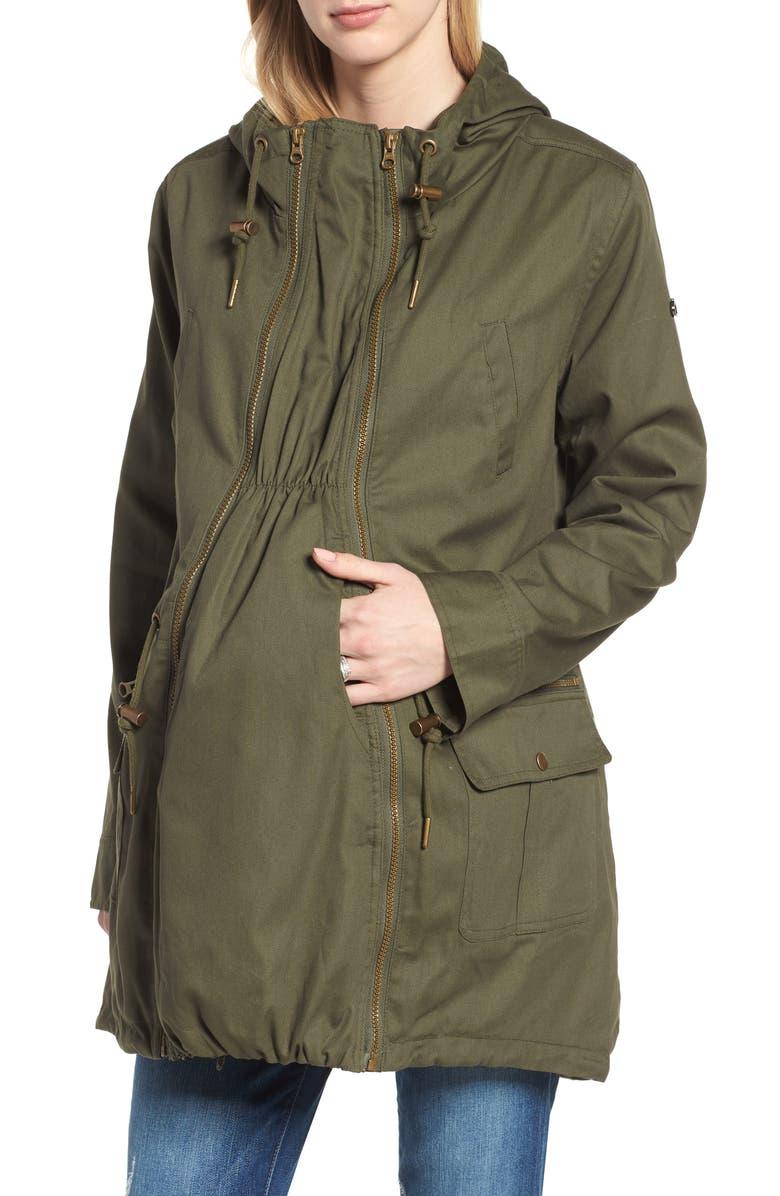 Convertible Military 3-in-1 Maternity/Nursing Jacket