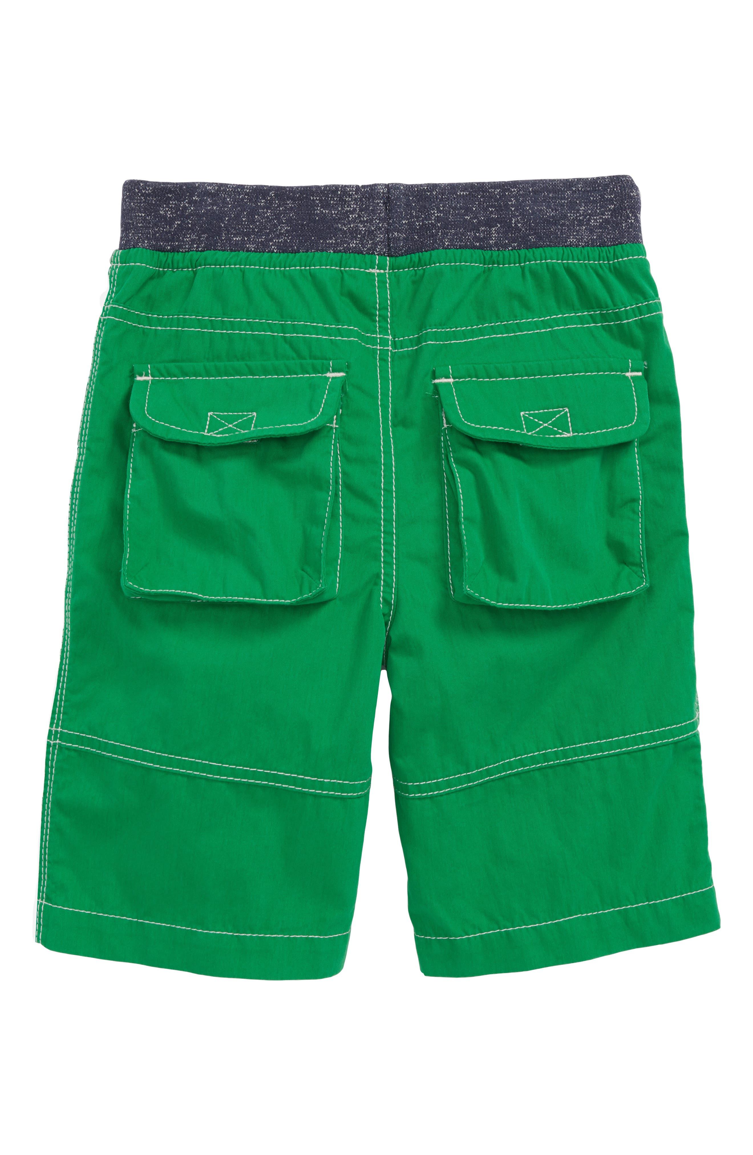 Adventure Shorts,                             Alternate thumbnail 3, color,                             Runner Bean Green