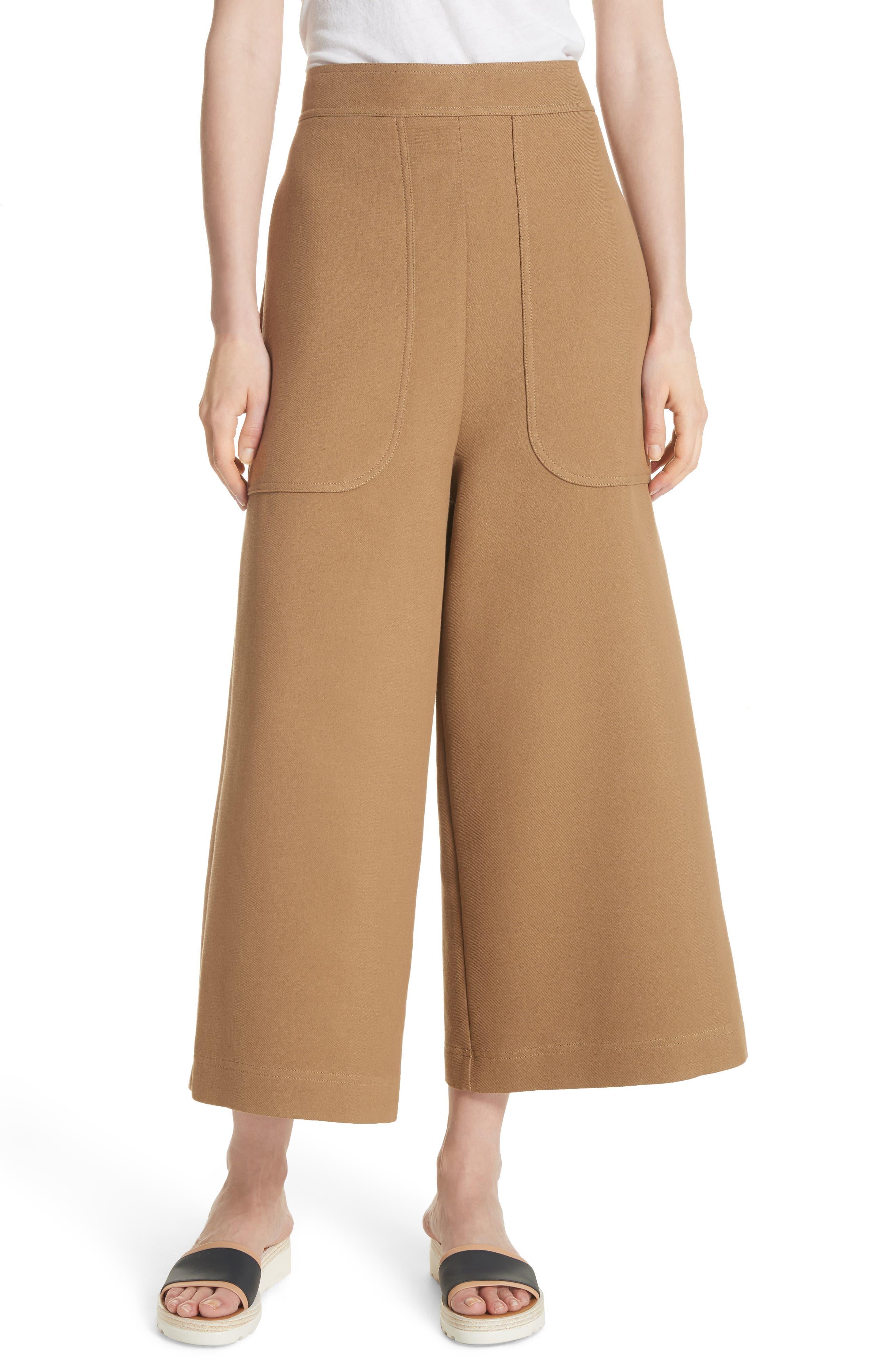 See by Chloé Crop Wide Leg Pants