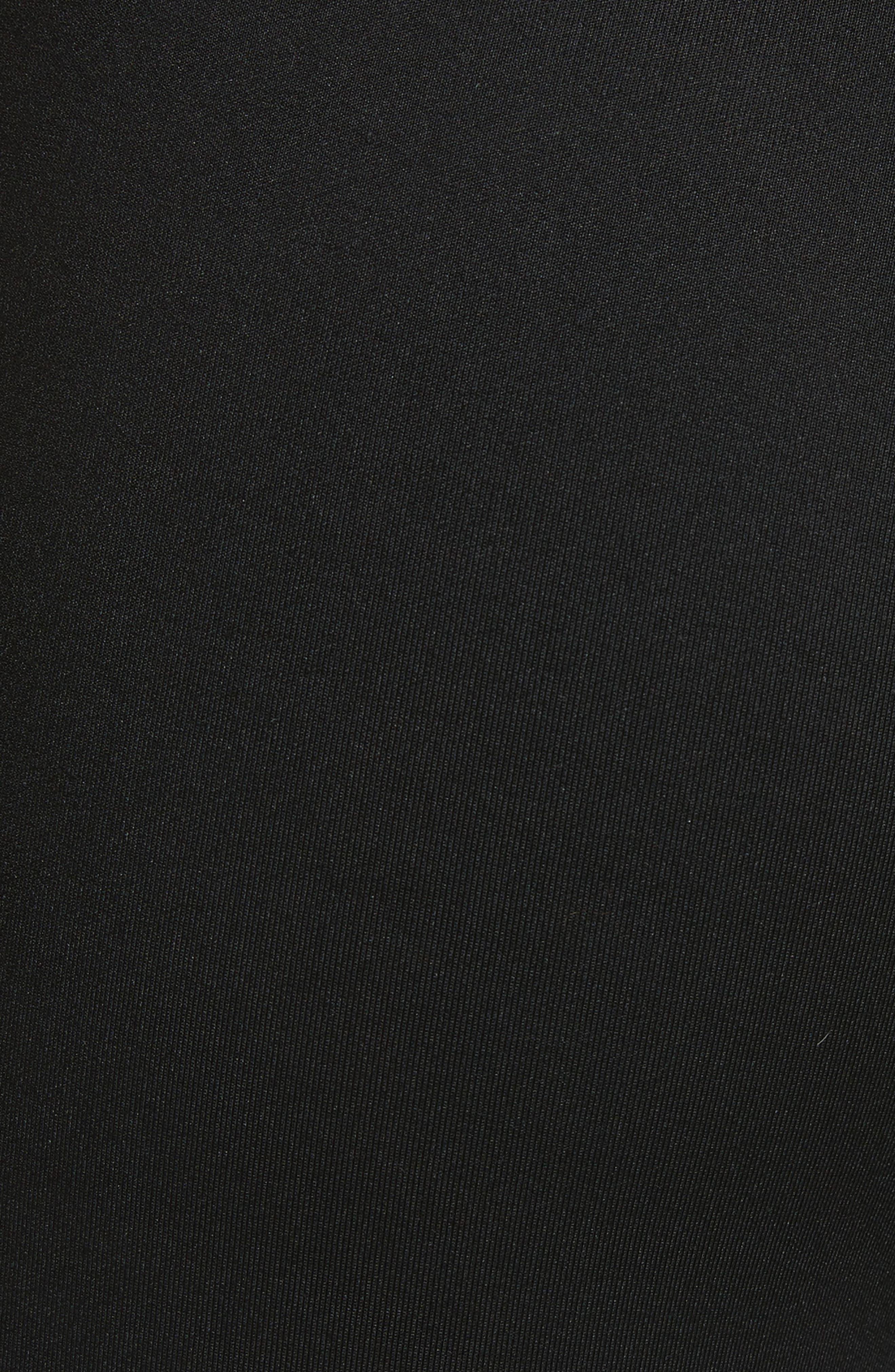 Tricot Track Pants,                             Alternate thumbnail 5, color,                             Black