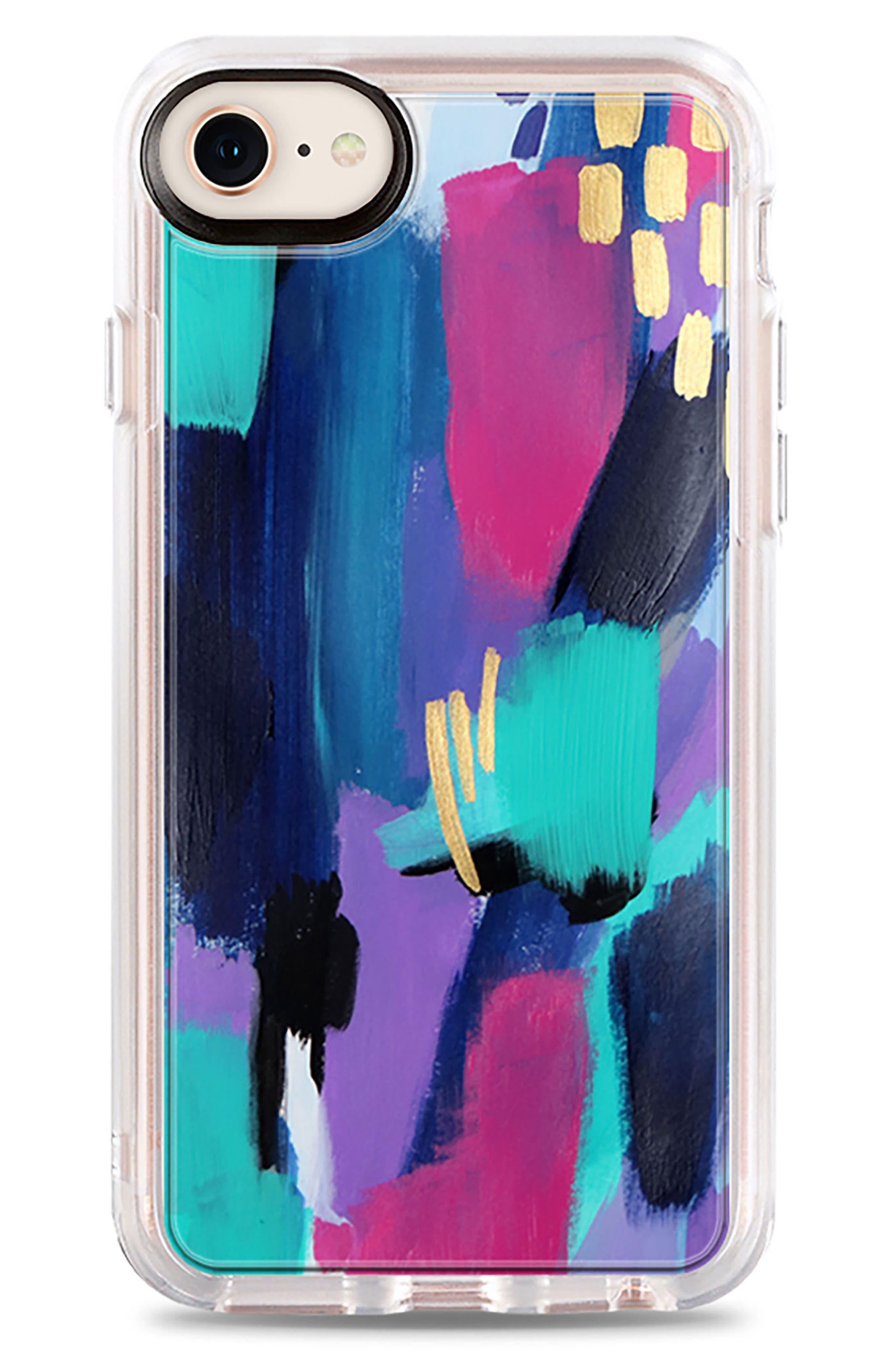 Glitz Glam iPhone 7/8 & 7/8 Plus Case,                             Main thumbnail 1, color,                             Multi