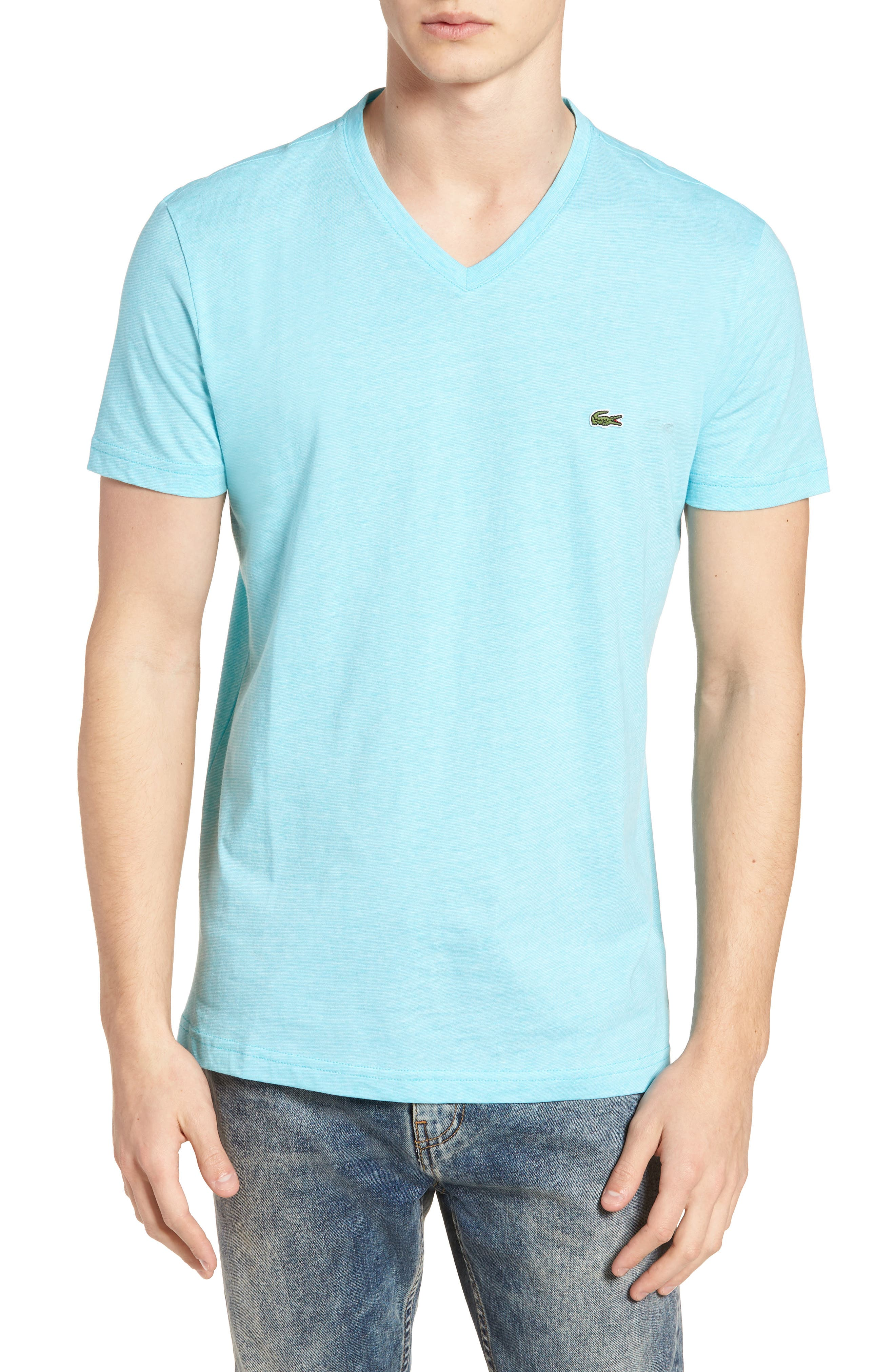Alternate Image 1 Selected - Lacoste V-Neck Cotton T-Shirt