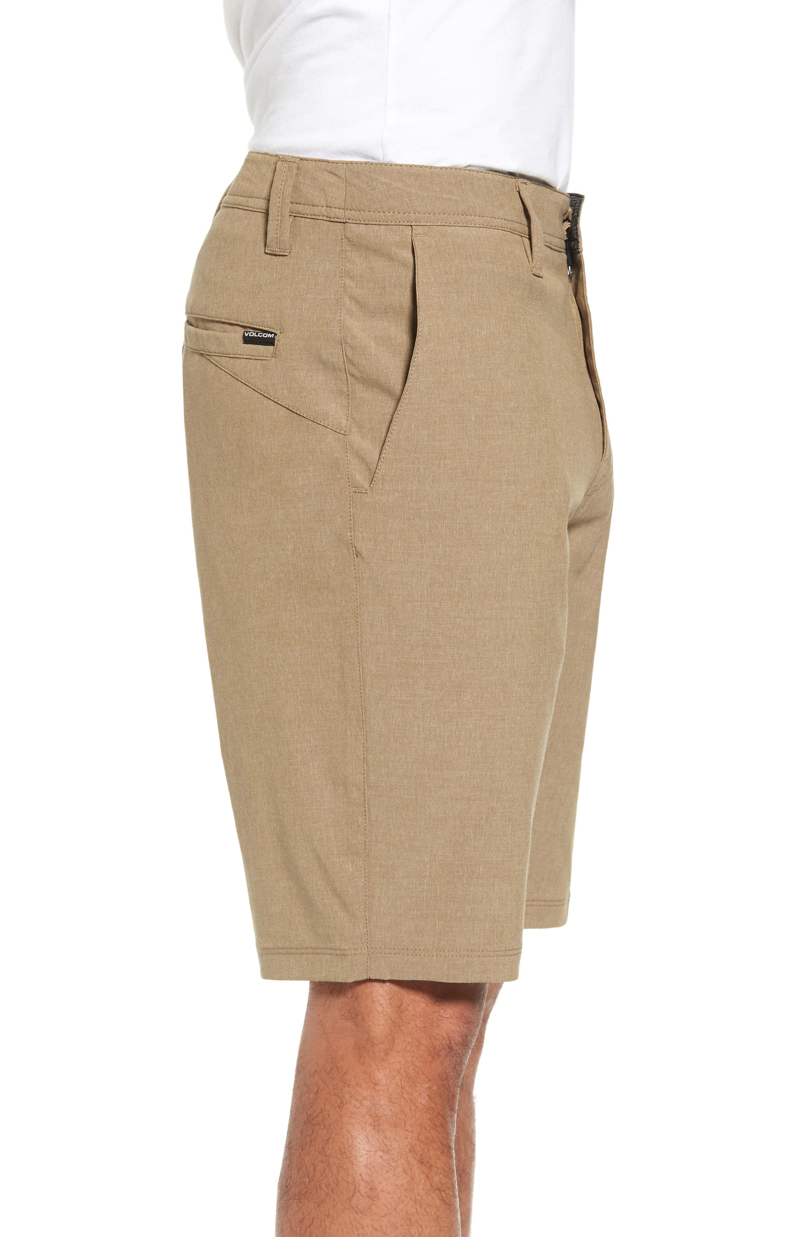 Hybrid Shorts,                             Alternate thumbnail 3, color,                             Beige
