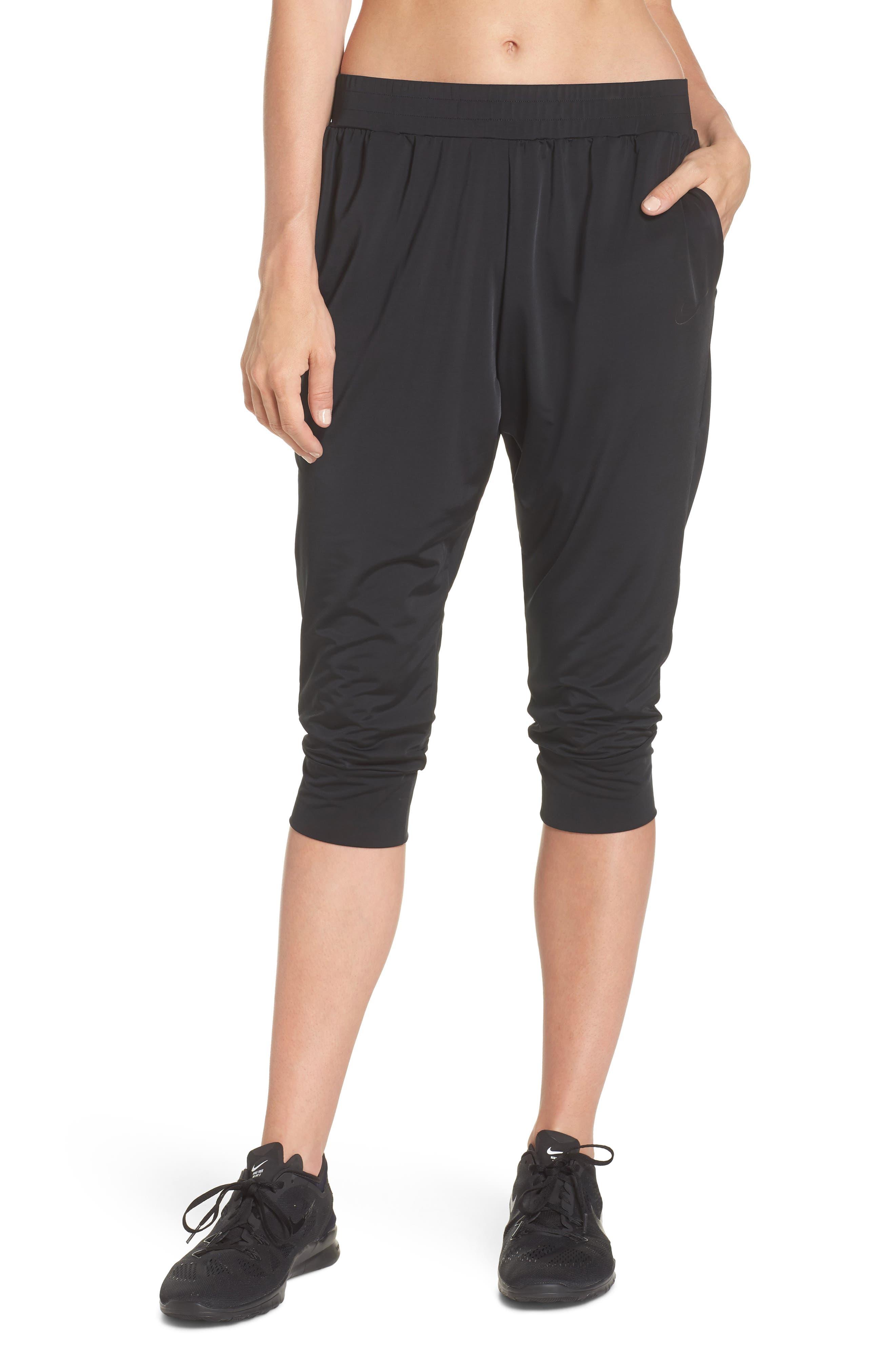 Dry Touch Training Pants,                             Main thumbnail 1, color,                             Black/ Black