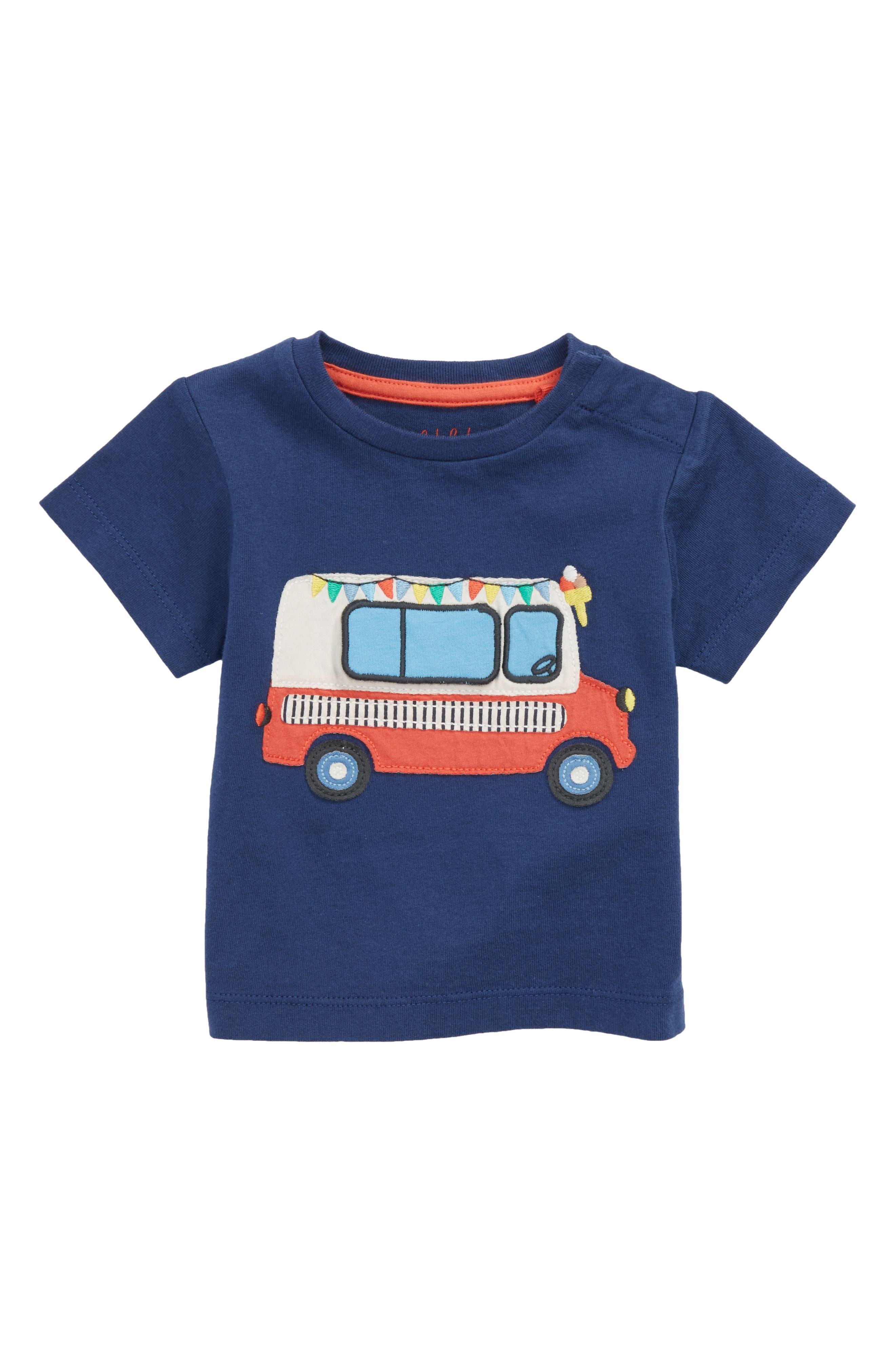 Peekaboo T-Shirt,                         Main,                         color, Beacon Blue