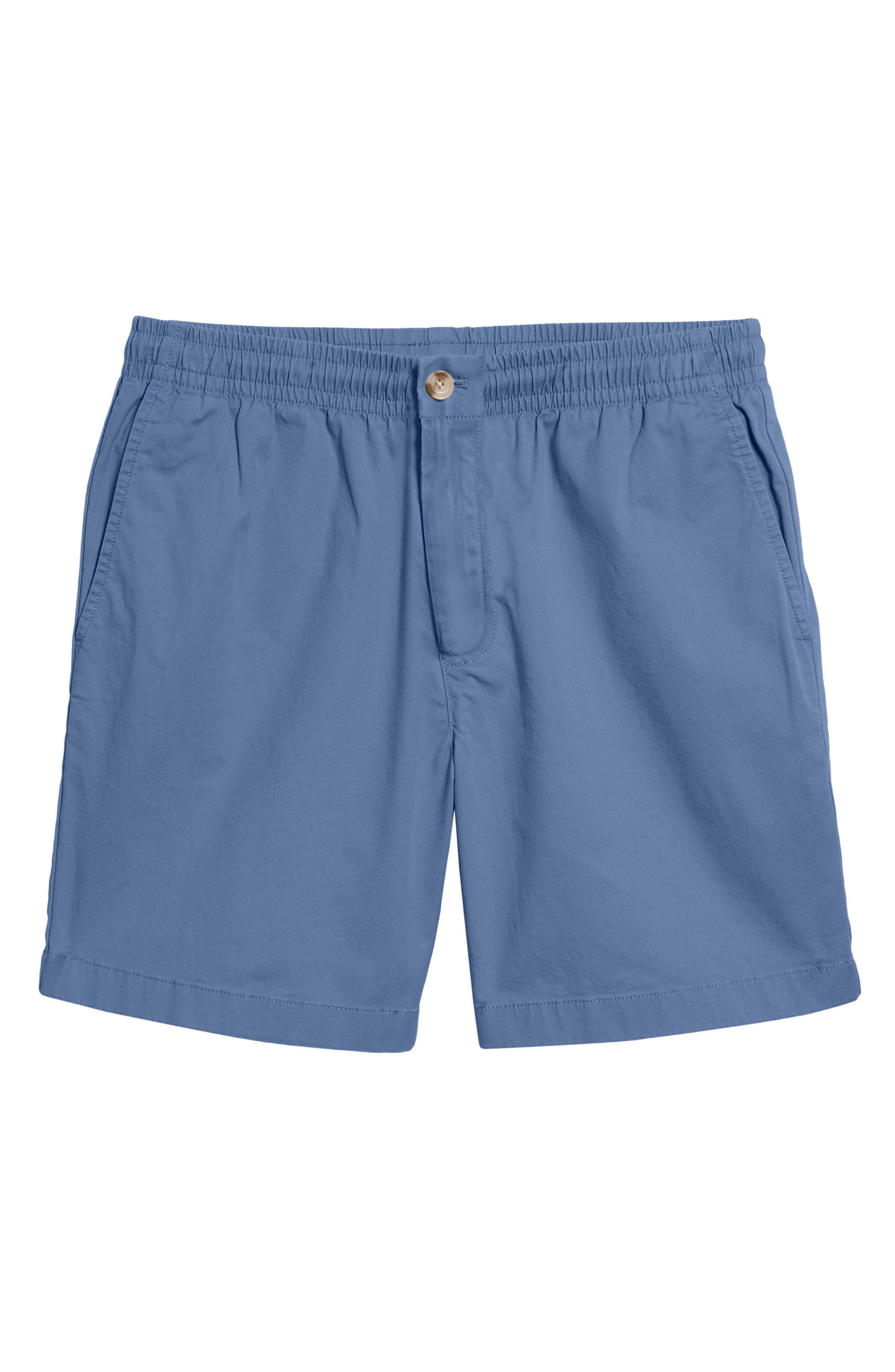Jetty Stretch Cotton Shorts,                             Alternate thumbnail 6, color,                             Moonshine
