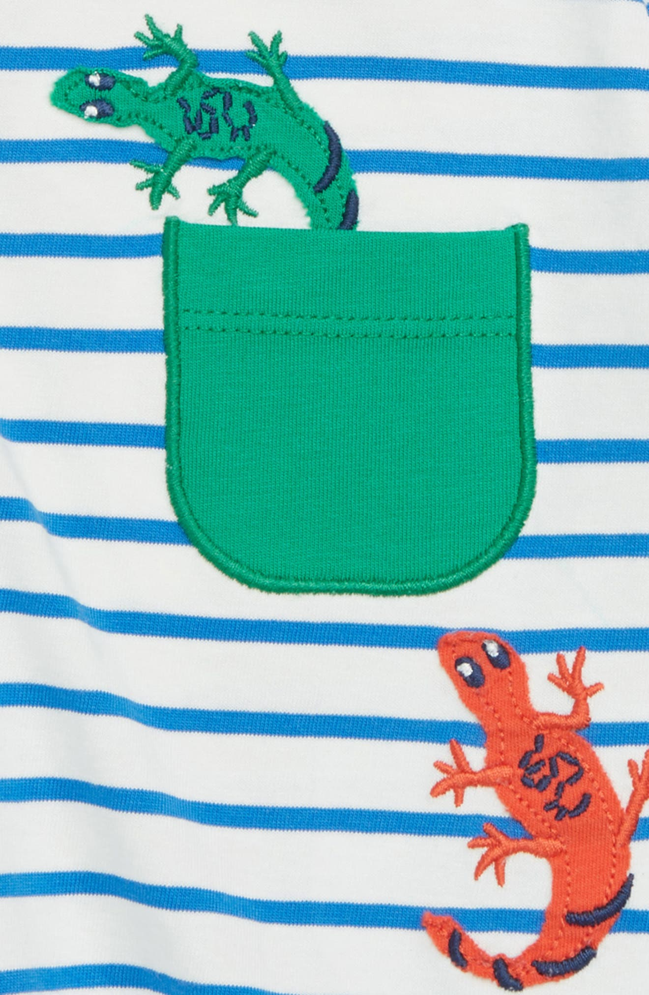 Pocket Friends T-Shirt,                             Alternate thumbnail 2, color,                             Skipper Blue