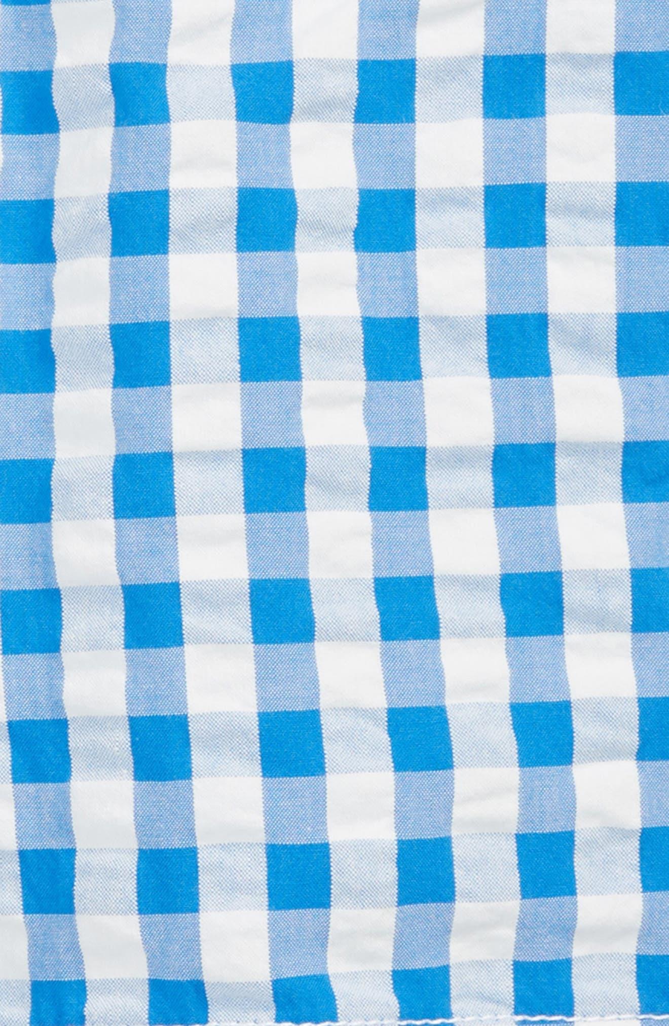Bright Adventure Shorts,                             Alternate thumbnail 2, color,                             Skipper Blue Gingham Blu
