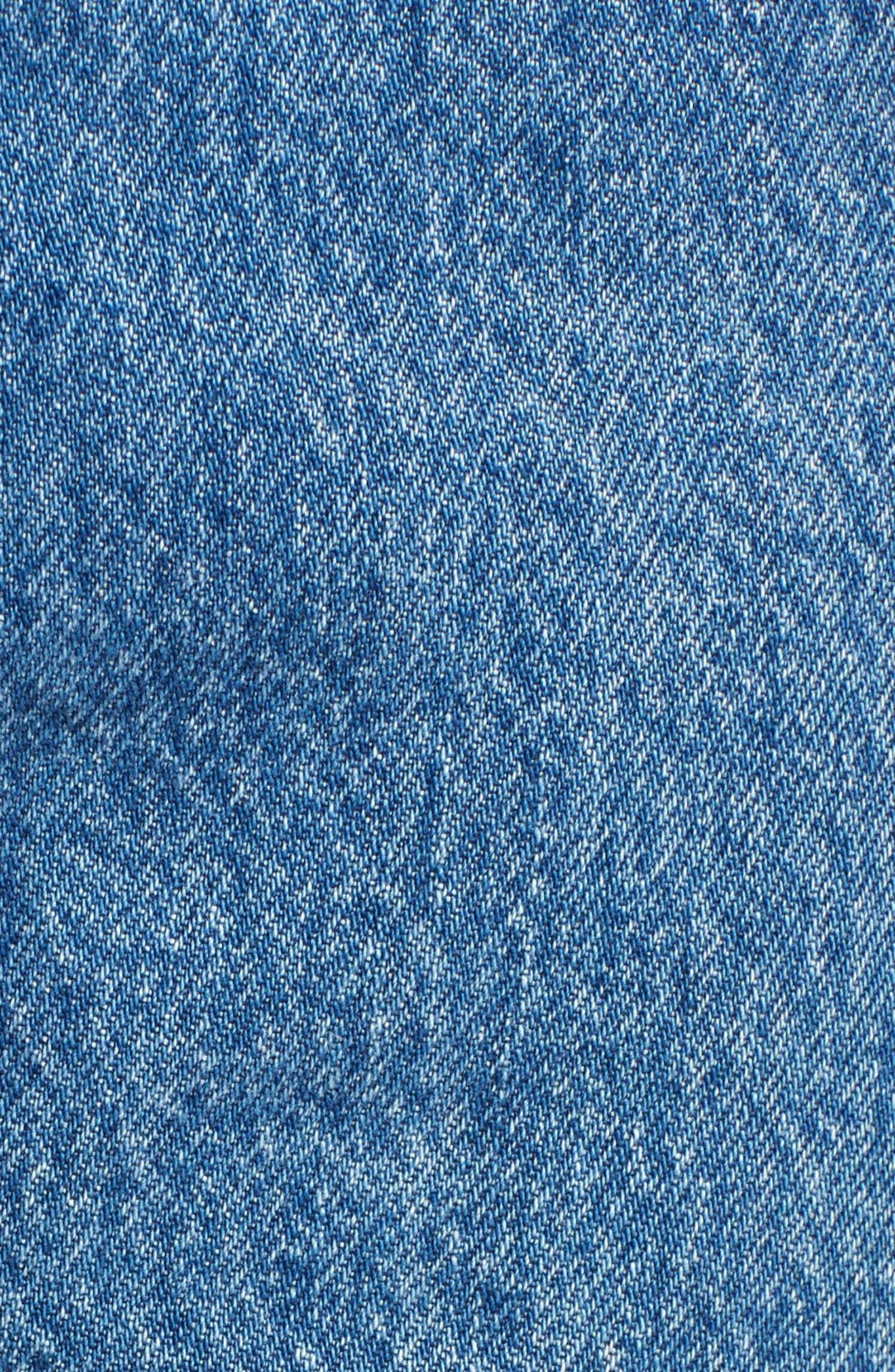 501 High Waist Crop Jeans,                             Alternate thumbnail 5, color,                             Spectator Sport